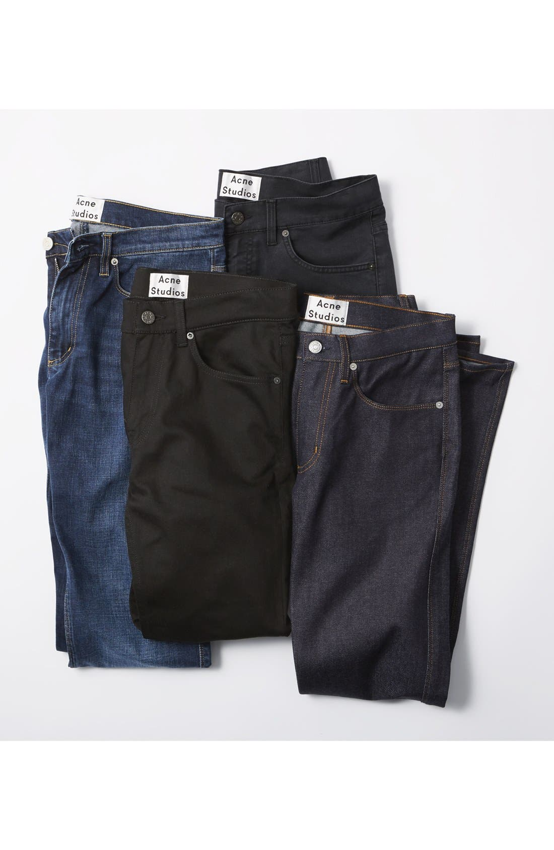 Max Slim Straight Leg Jeans,                             Alternate thumbnail 6, color,                             400