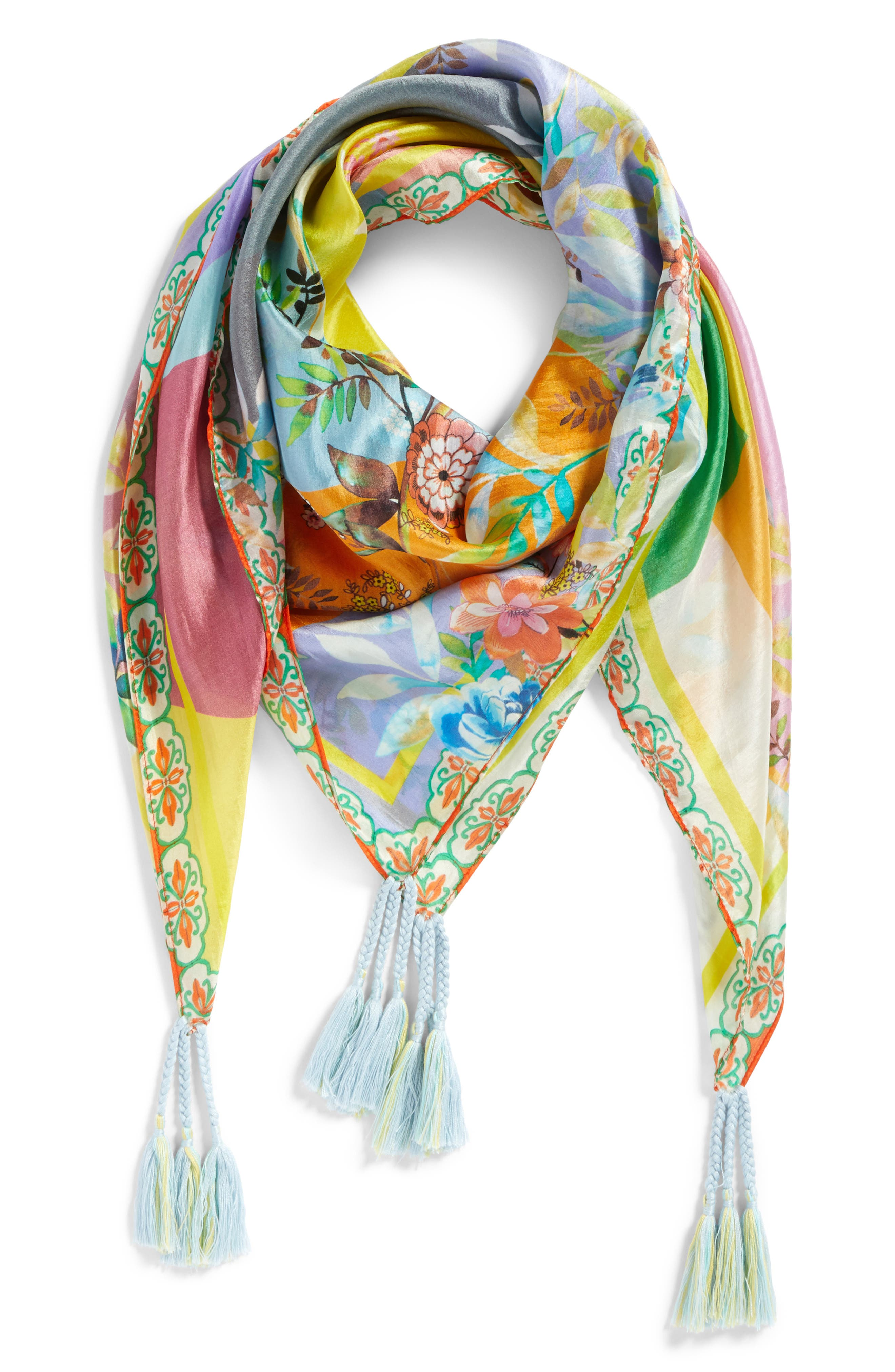 Silk Scarf,                             Alternate thumbnail 2, color,                             110