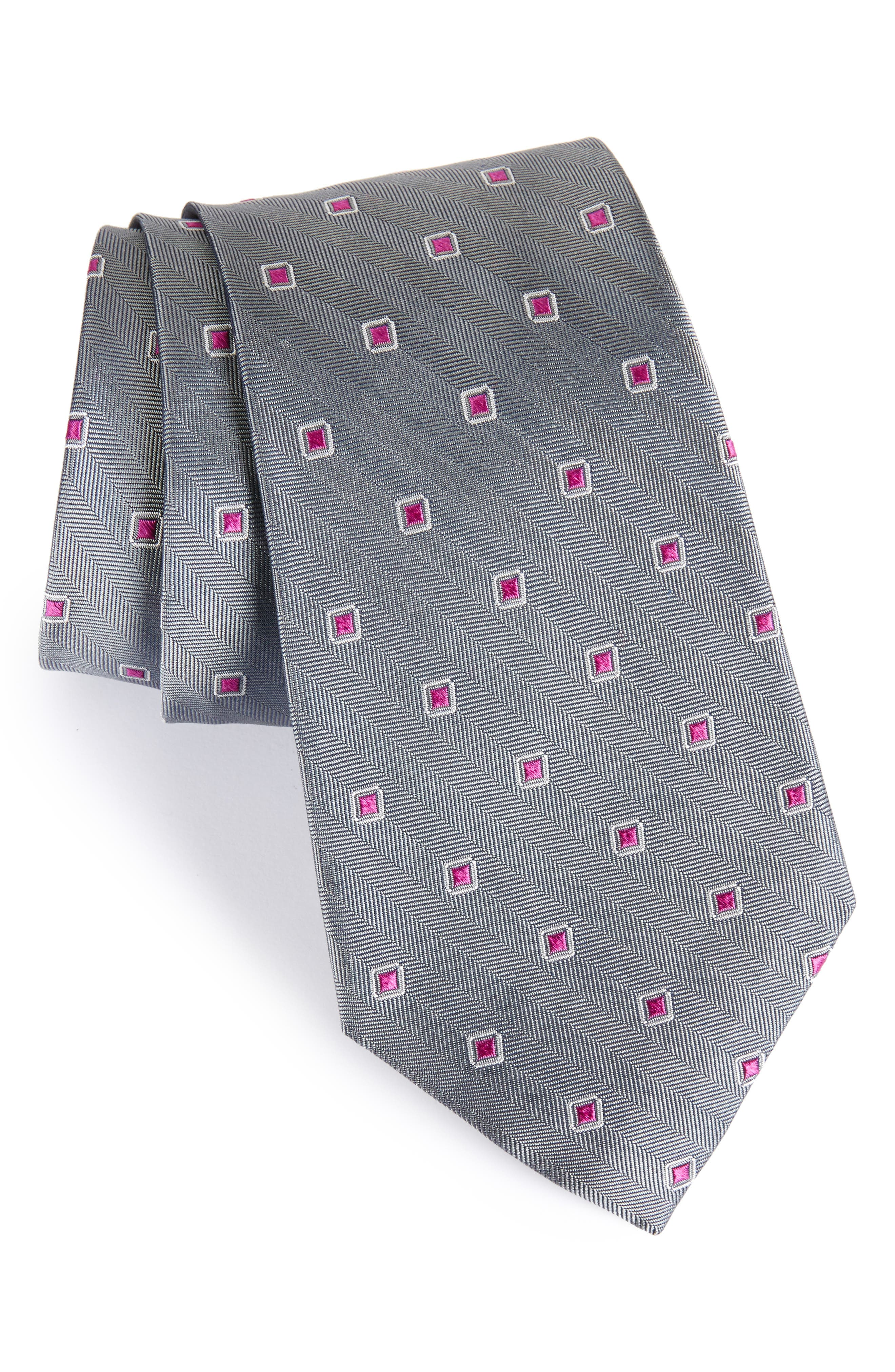 Open Ground Silk Tie,                             Main thumbnail 2, color,