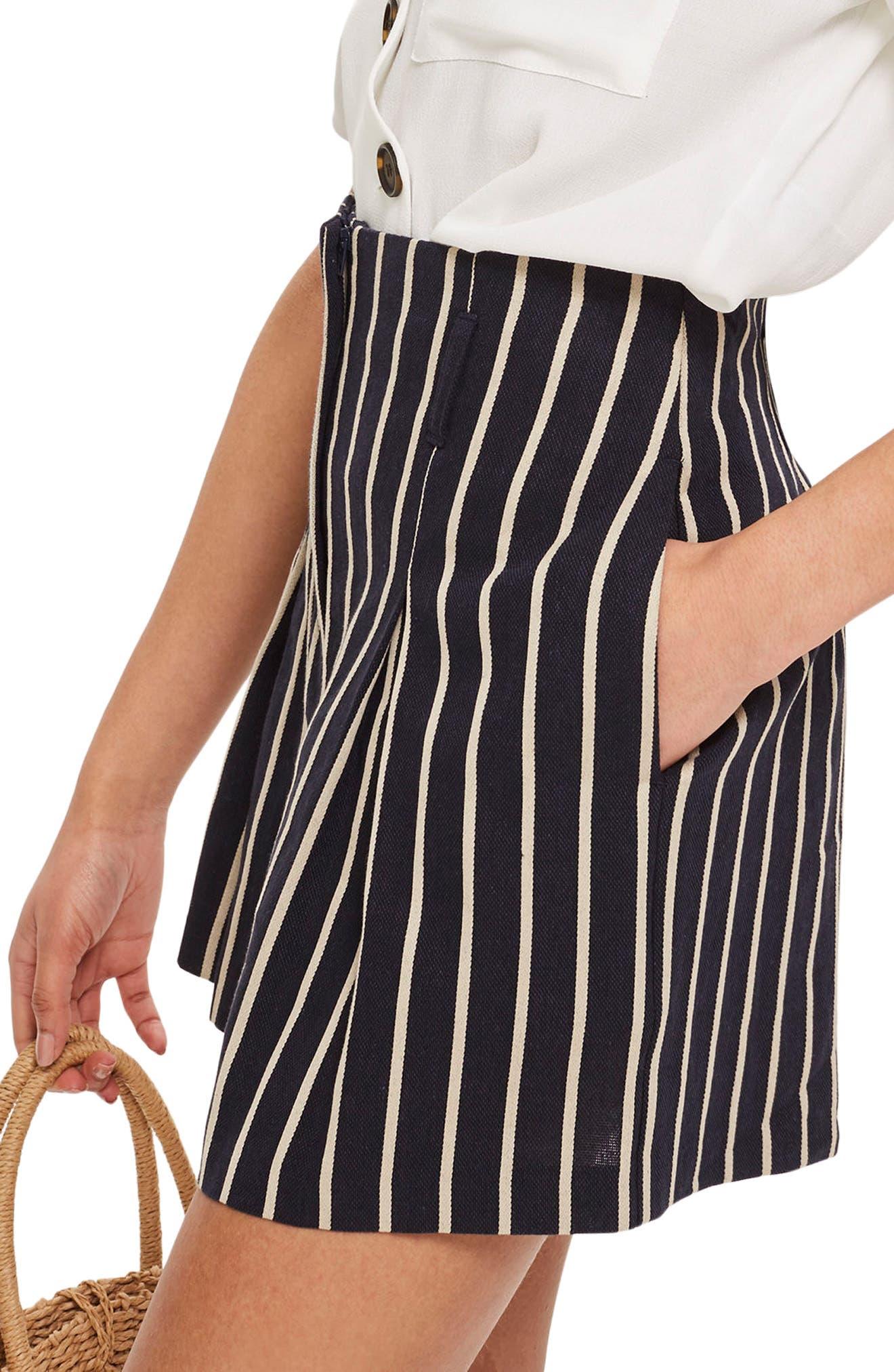 Stripe Shorts,                             Alternate thumbnail 3, color,                             411