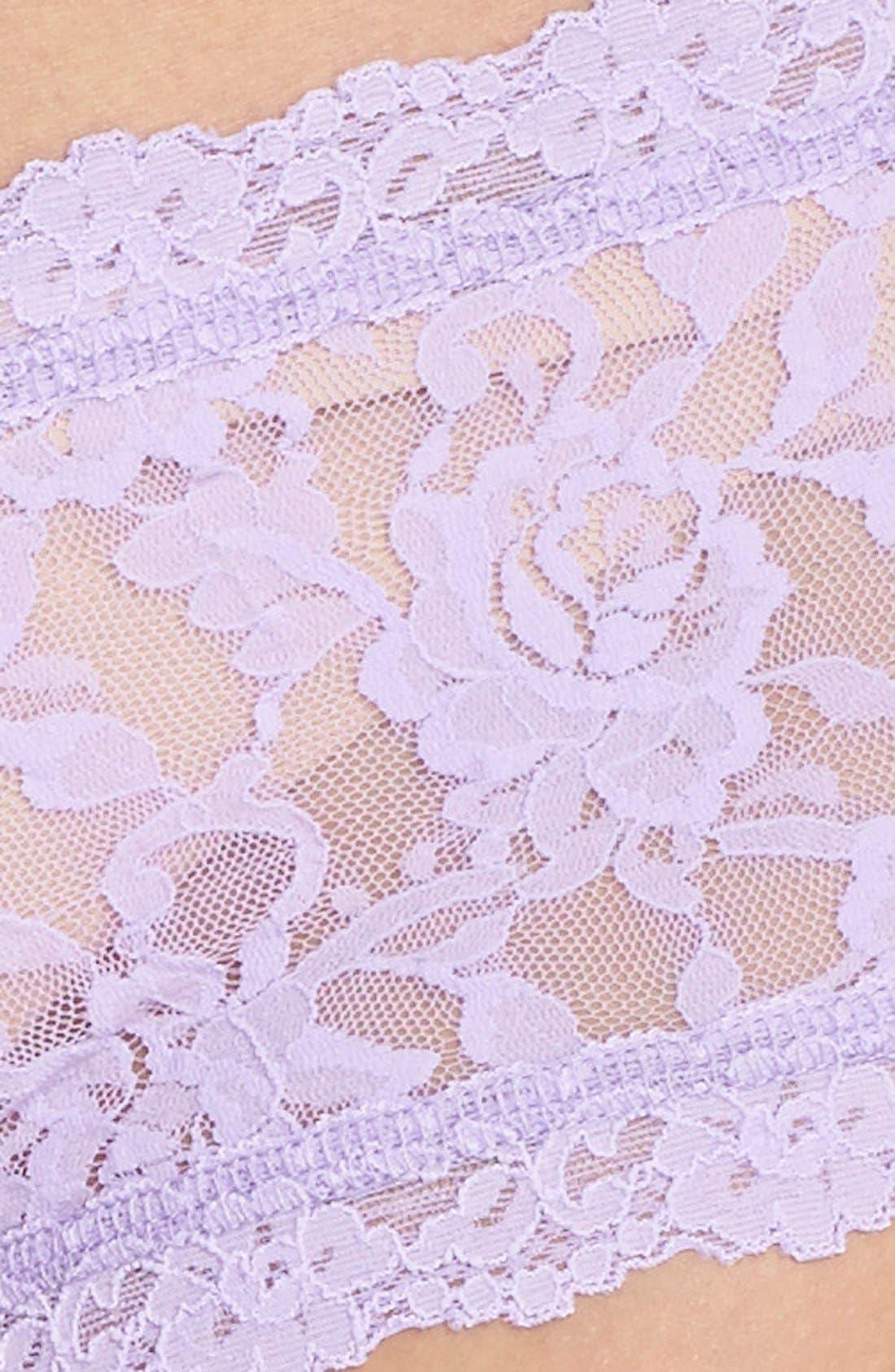'Signature Lace' Boyshorts,                             Alternate thumbnail 325, color,