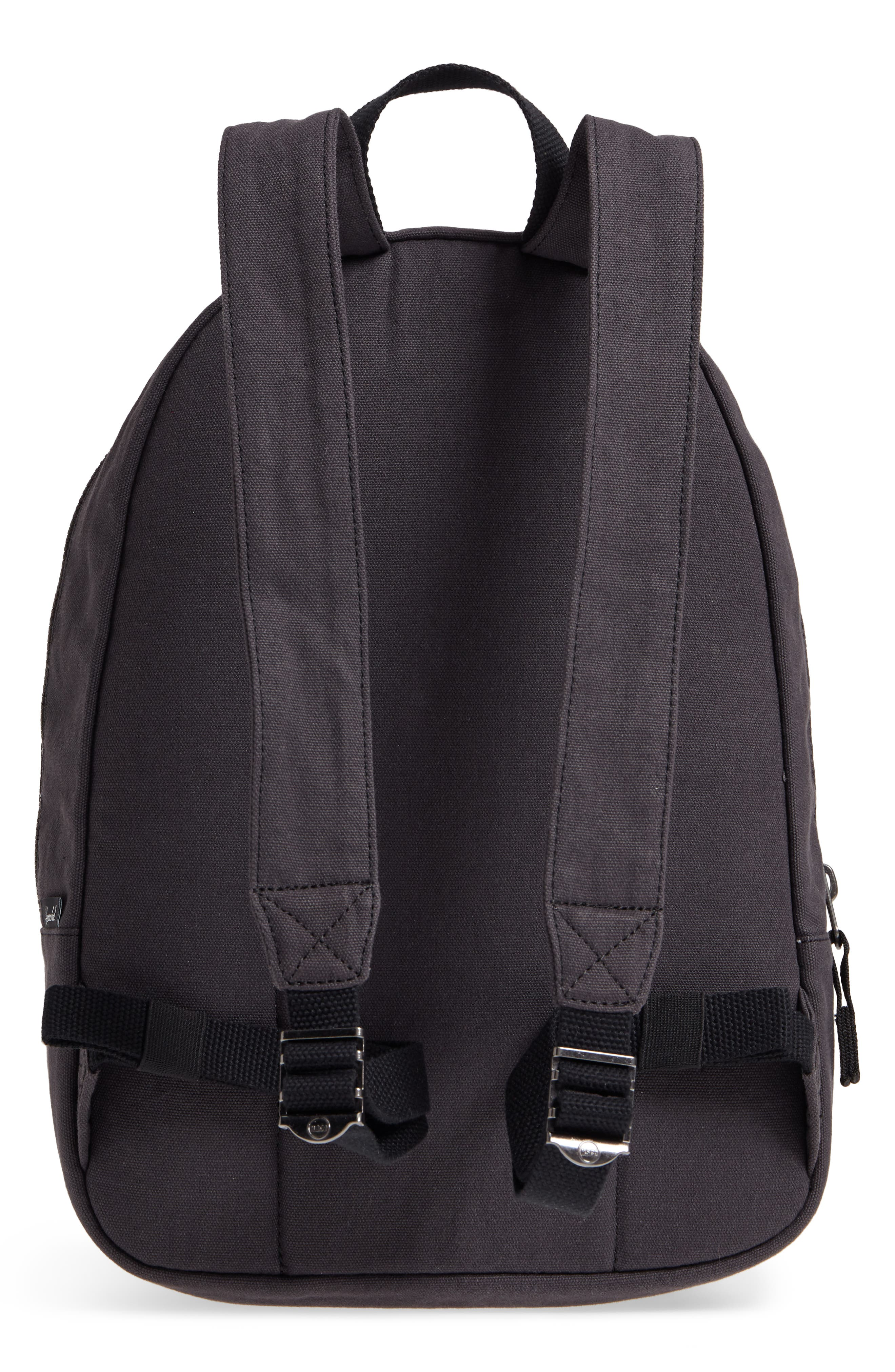X-Small Grove Cotton Canvas Backpack,                             Alternate thumbnail 3, color,                             001