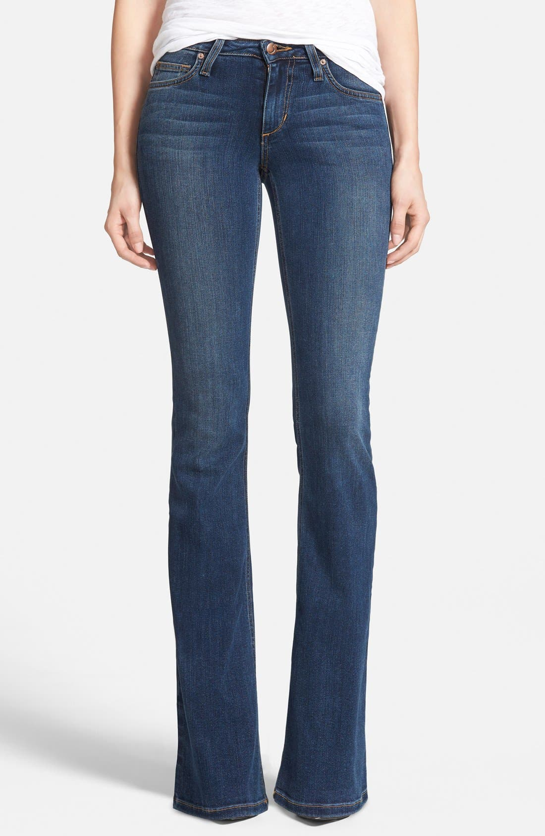 'Flawless - Icon' Flare Jeans,                             Main thumbnail 1, color,                             400