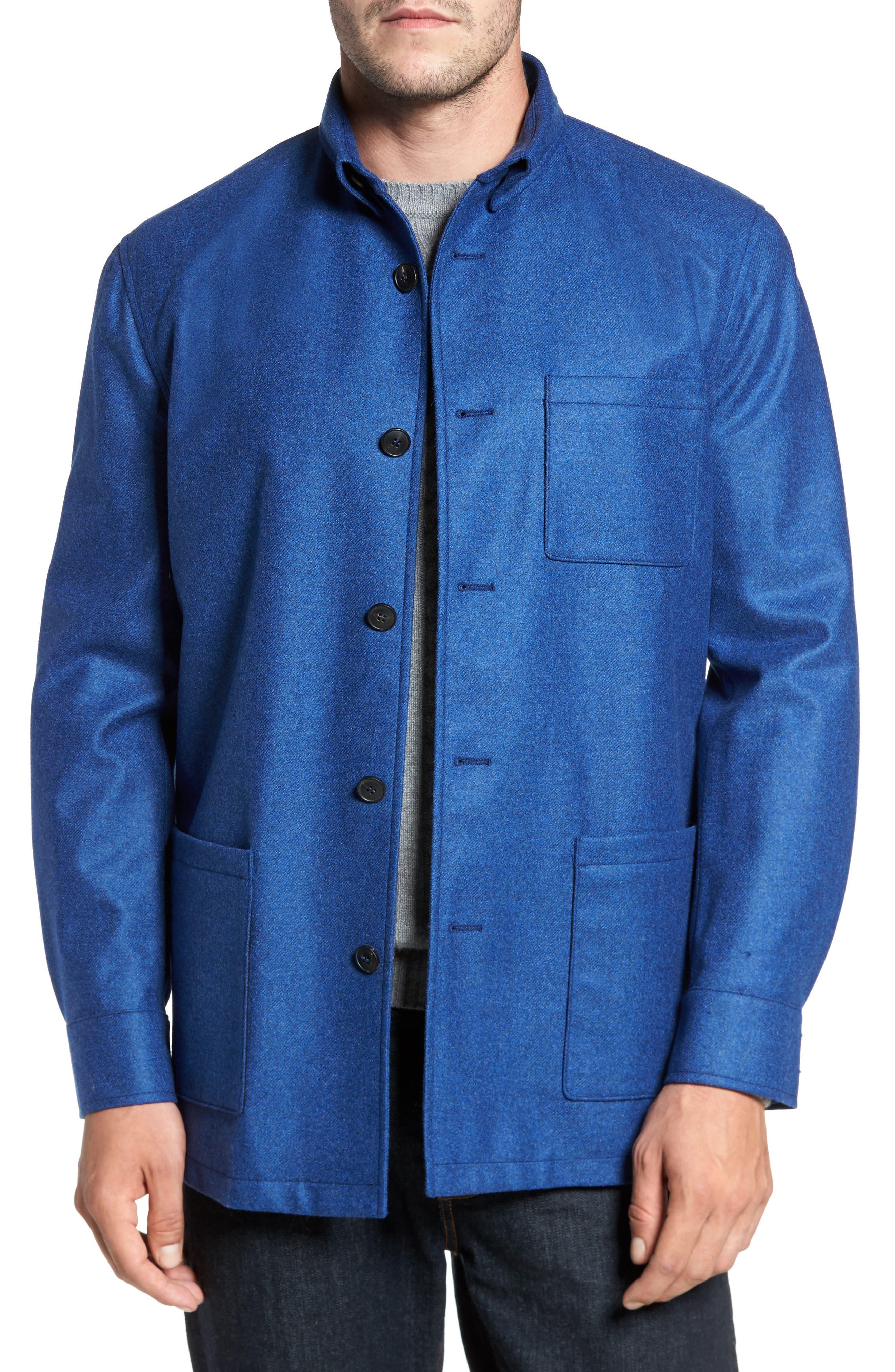 Loro Piana Storm System Shirt Jacket,                             Main thumbnail 4, color,