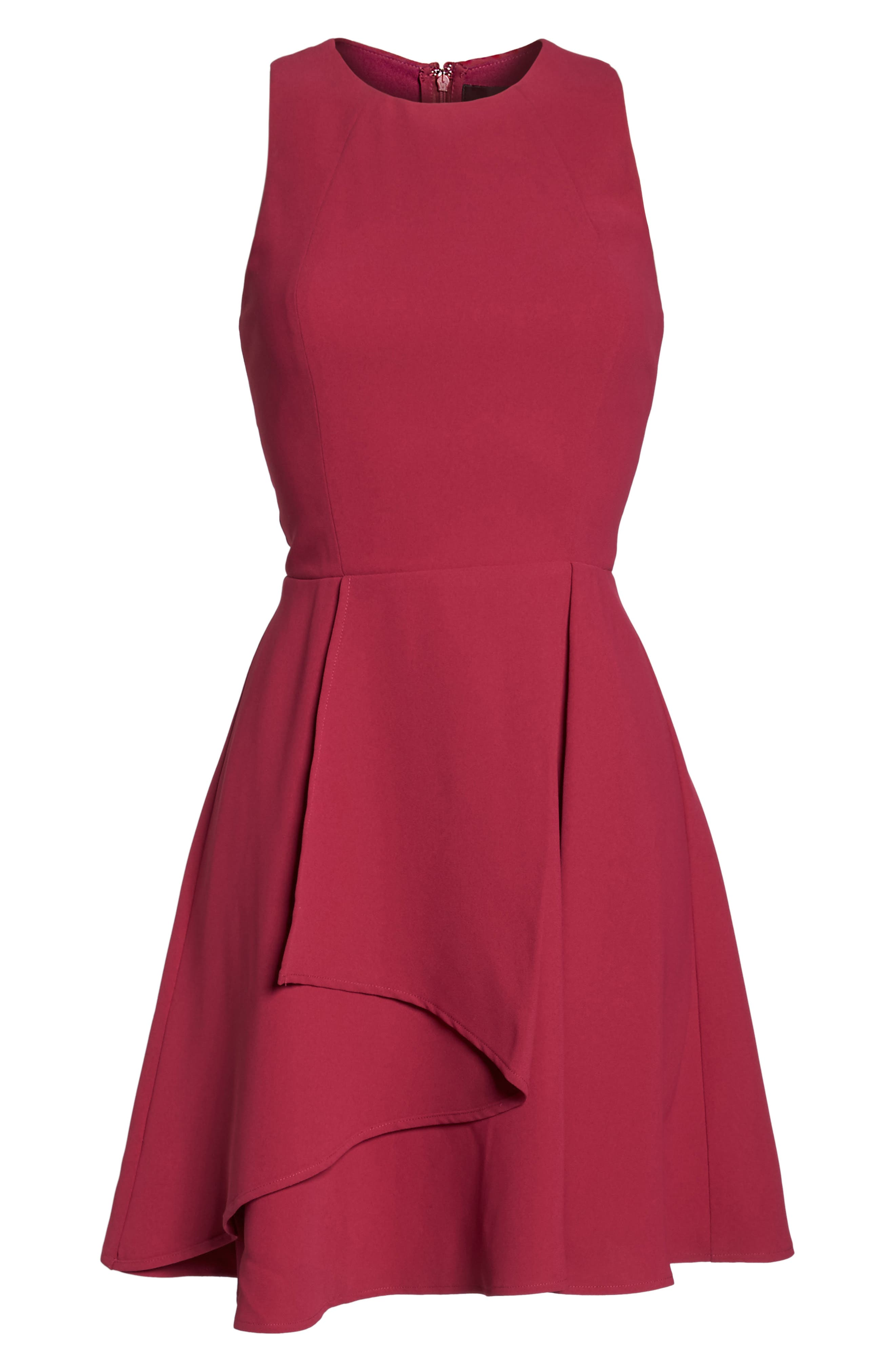 Athena Fit & Flare Dress,                             Alternate thumbnail 22, color,