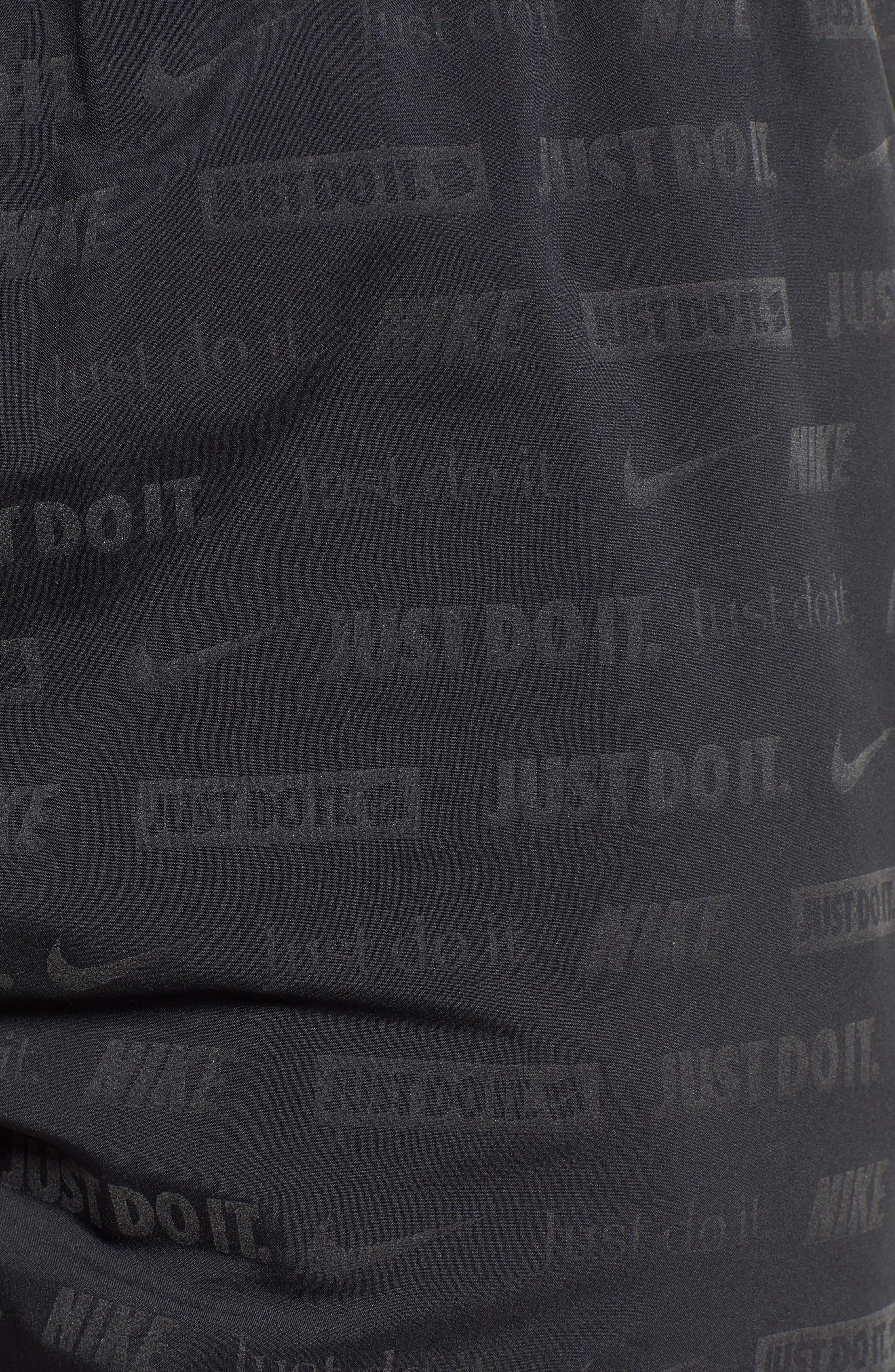 Stride Ghost Flash Running Shorts,                             Alternate thumbnail 5, color,                             BLACK/ BLACK