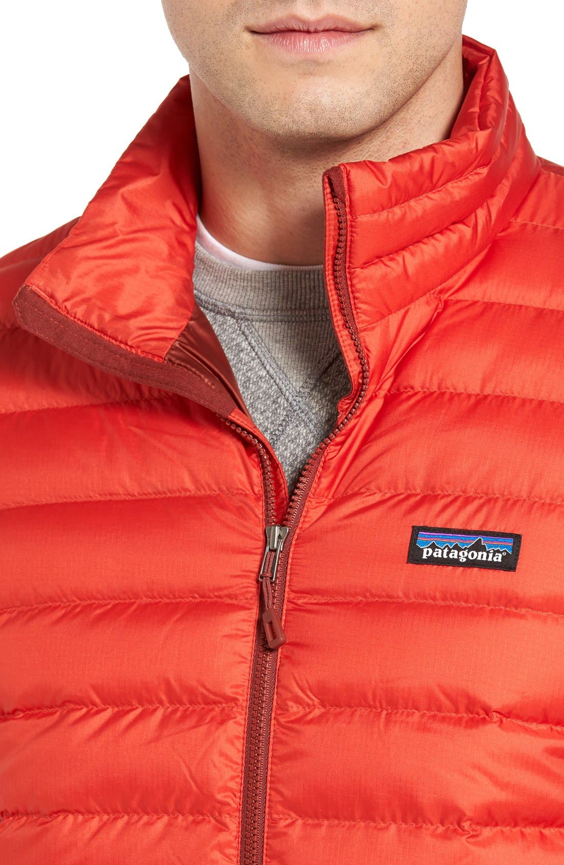 Water Repellent Down Jacket,                             Alternate thumbnail 79, color,