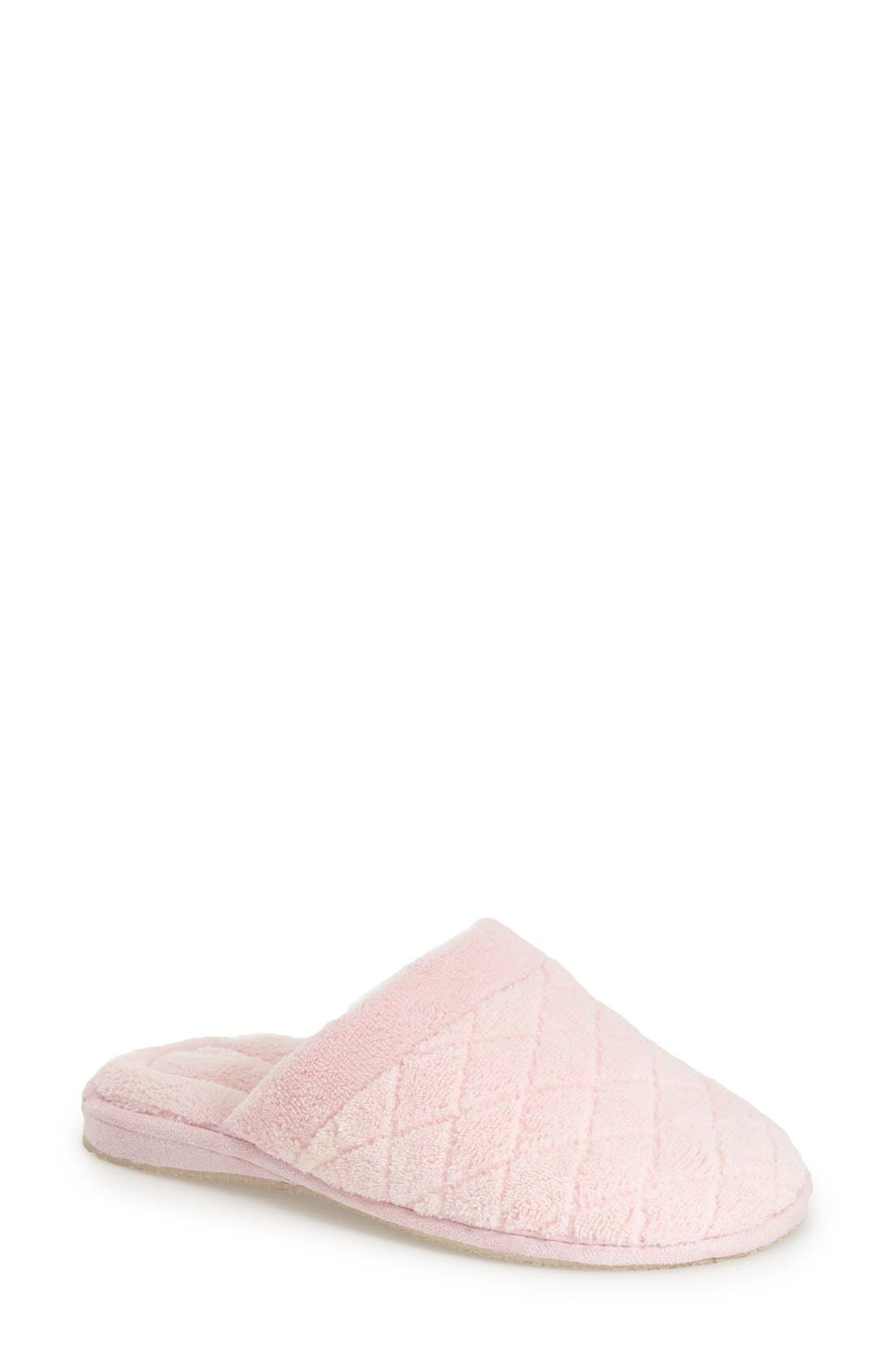 'Aria' Plush Slipper,                             Main thumbnail 3, color,
