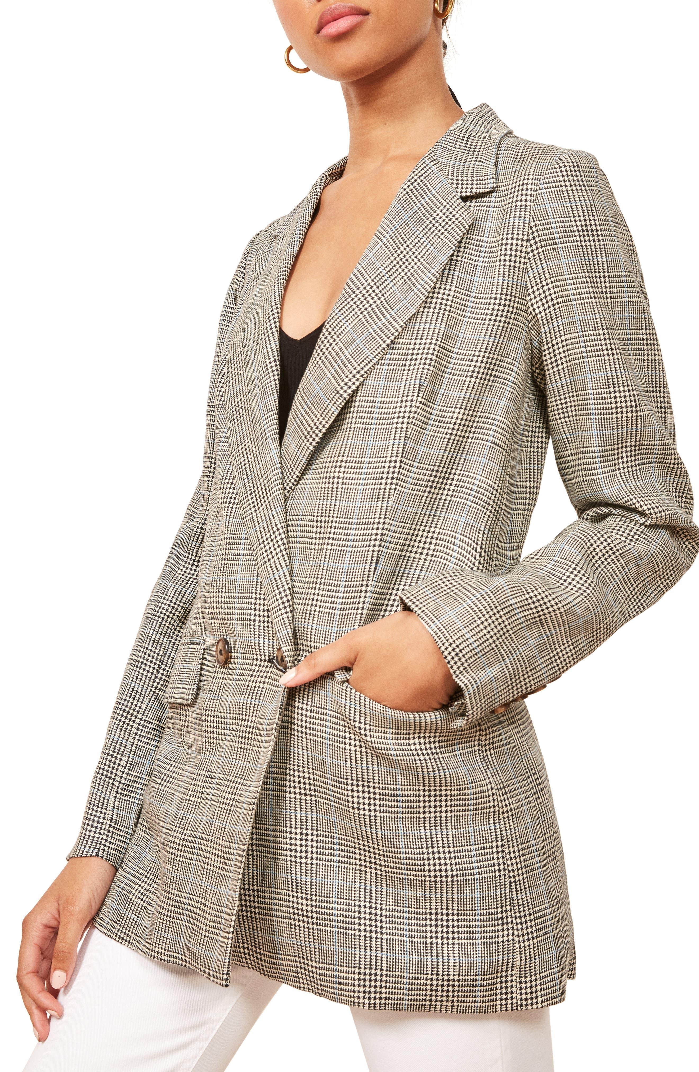 Valero Oversize Linen Blazer,                         Main,                         color, CANTEBURY