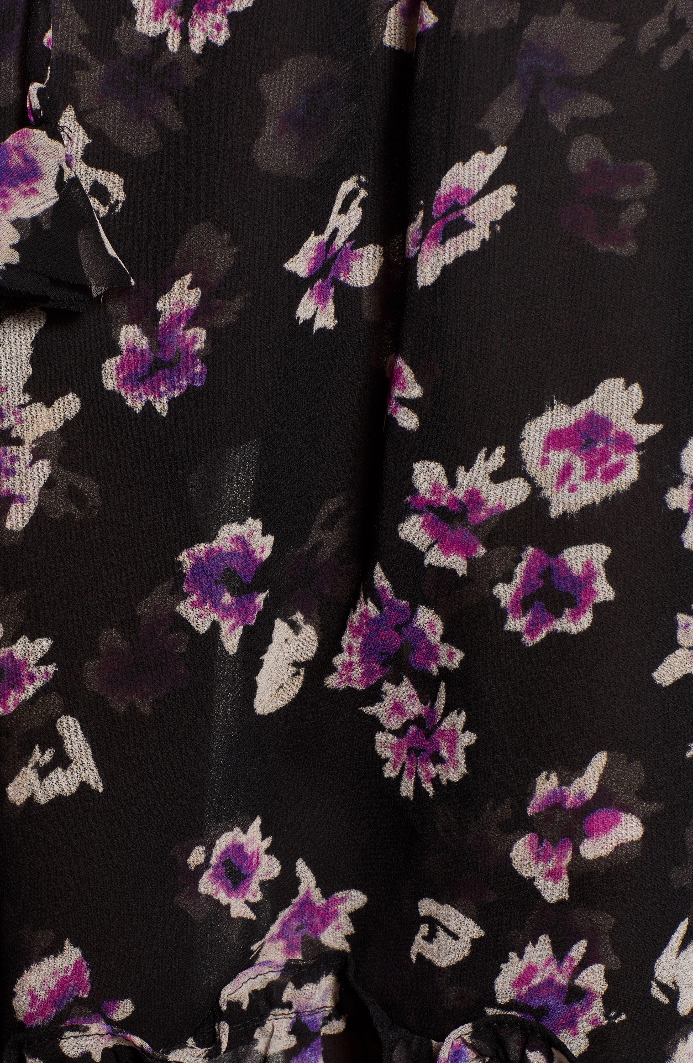 MISA LOS ANGELES,                             Caterine Sleeveless High/Low Dress,                             Alternate thumbnail 6, color,                             009