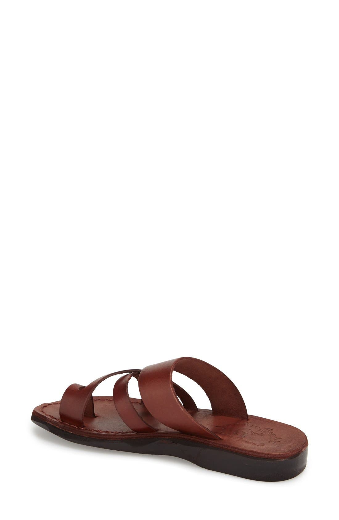 'The Good Shepard' Leather Sandal,                             Alternate thumbnail 13, color,
