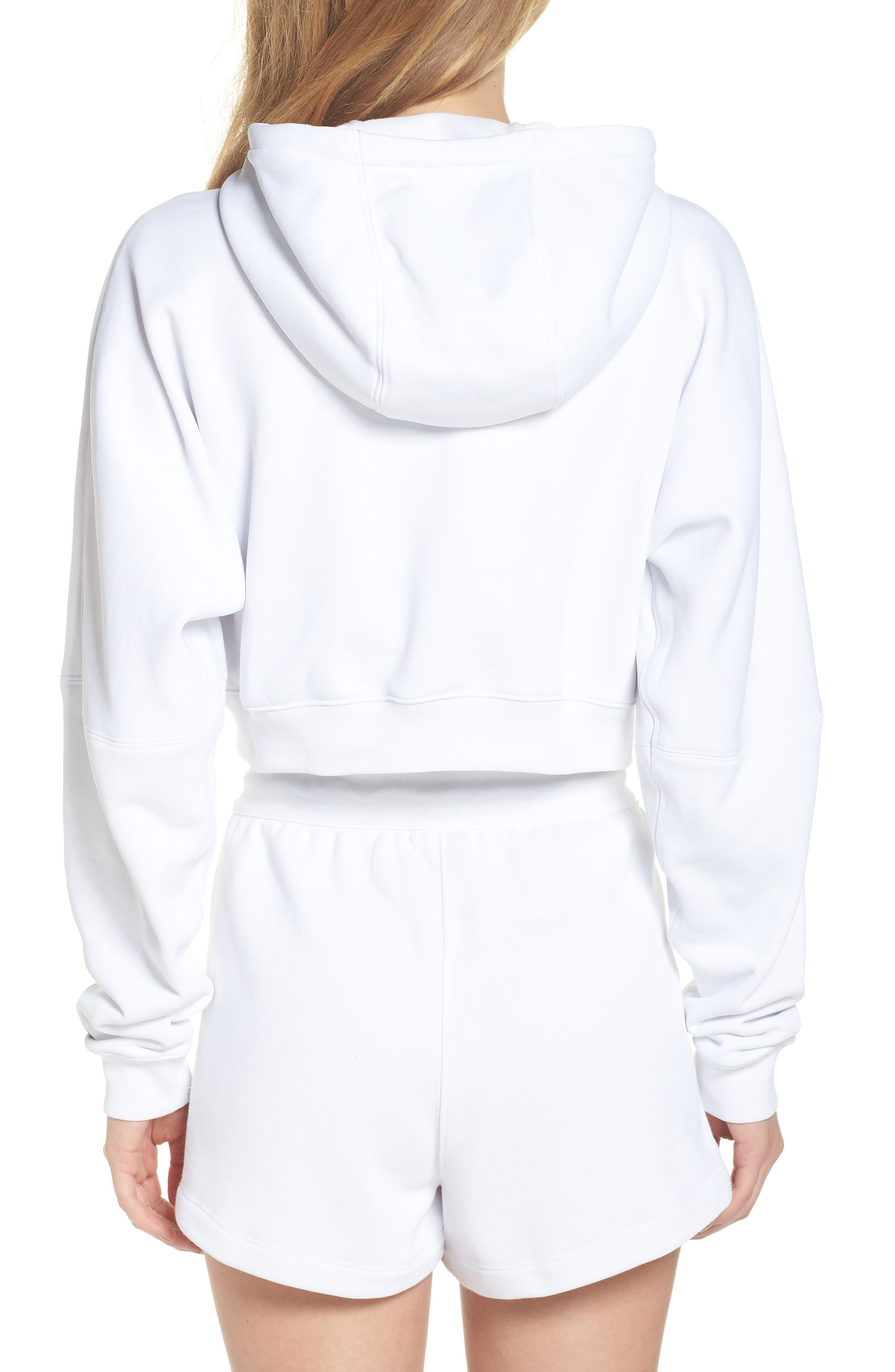 NikeLab Collection Terry Zip Hoodie,                             Alternate thumbnail 2, color,                             100