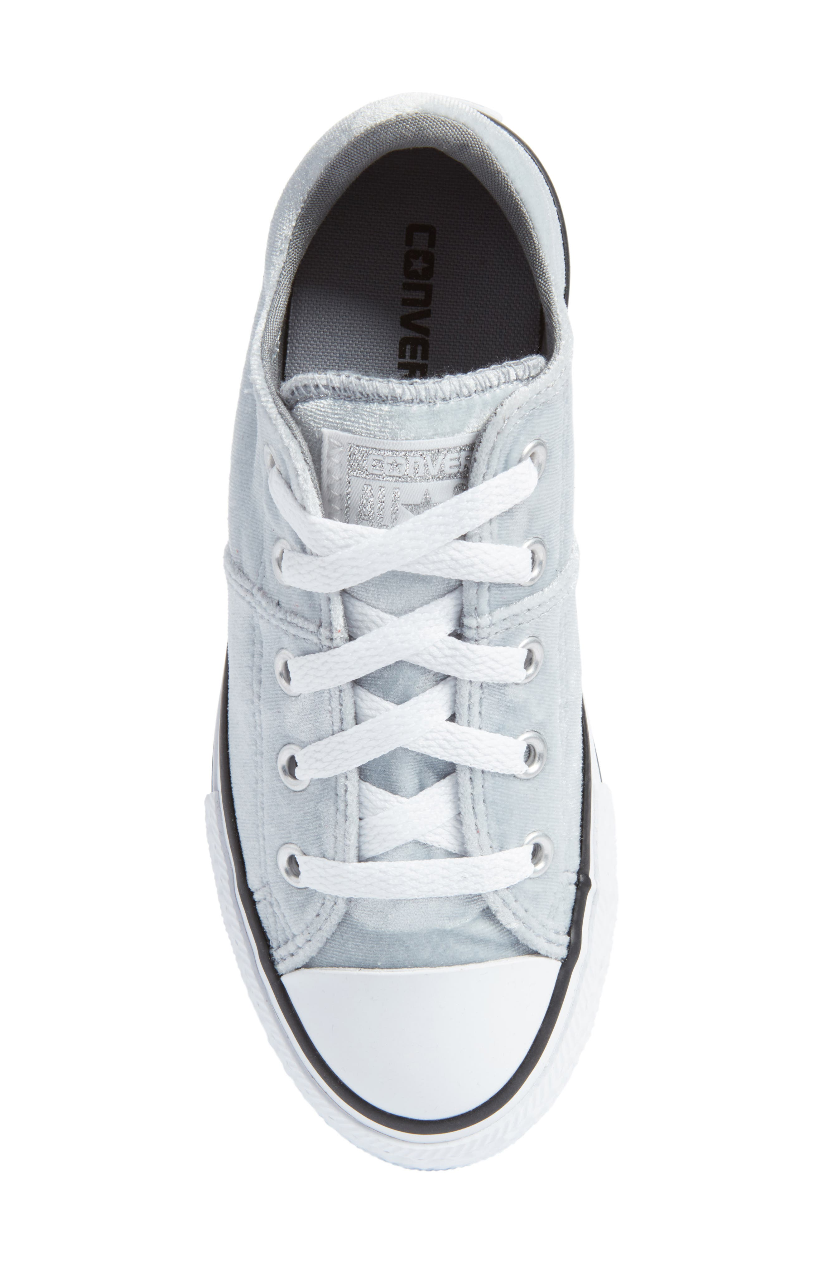 Chuck Taylor<sup>®</sup> All Star<sup>®</sup> Madison Velvet Low Top Sneaker,                             Alternate thumbnail 5, color,                             020