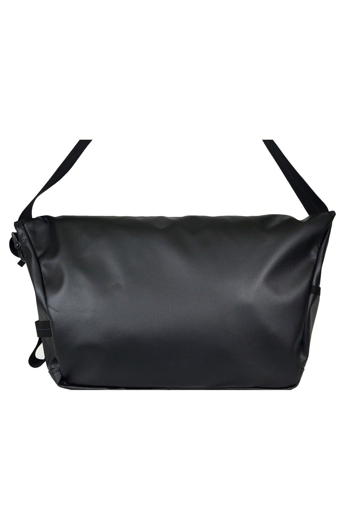 'NightHawk' Messenger Bag,                             Alternate thumbnail 2, color,                             BLACK