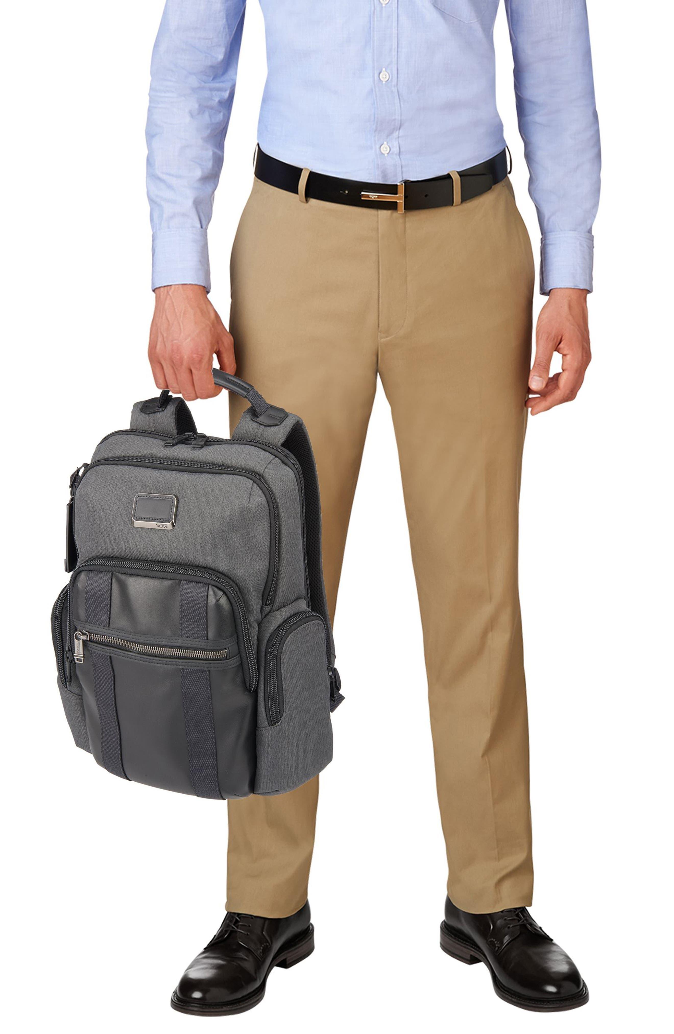 Alpha Bravo - Nellis Backpack,                             Alternate thumbnail 6, color,                             ANTHRACITE