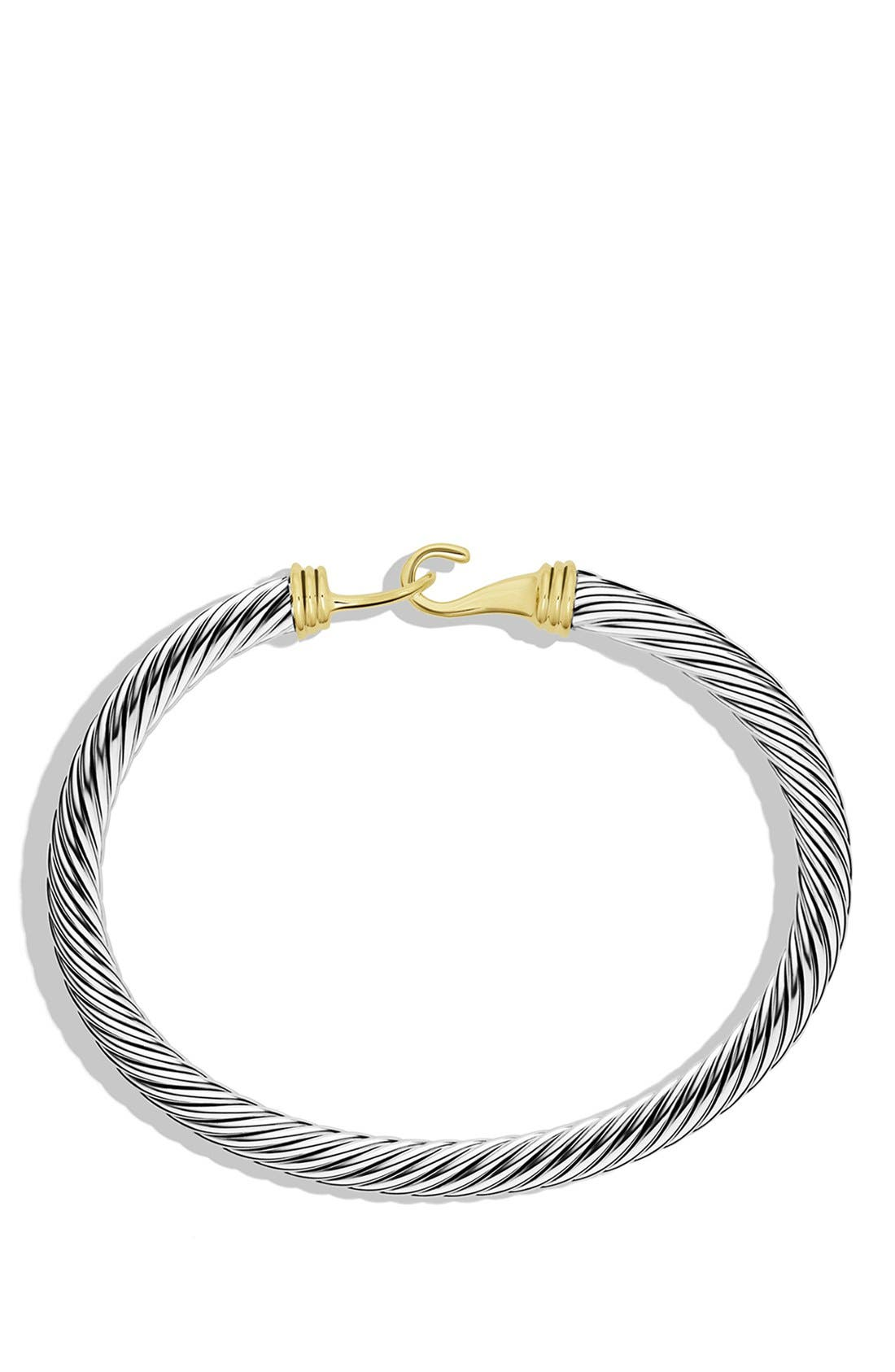 'Cable Buckle' Bracelet with Gold,                             Alternate thumbnail 2, color,                             040