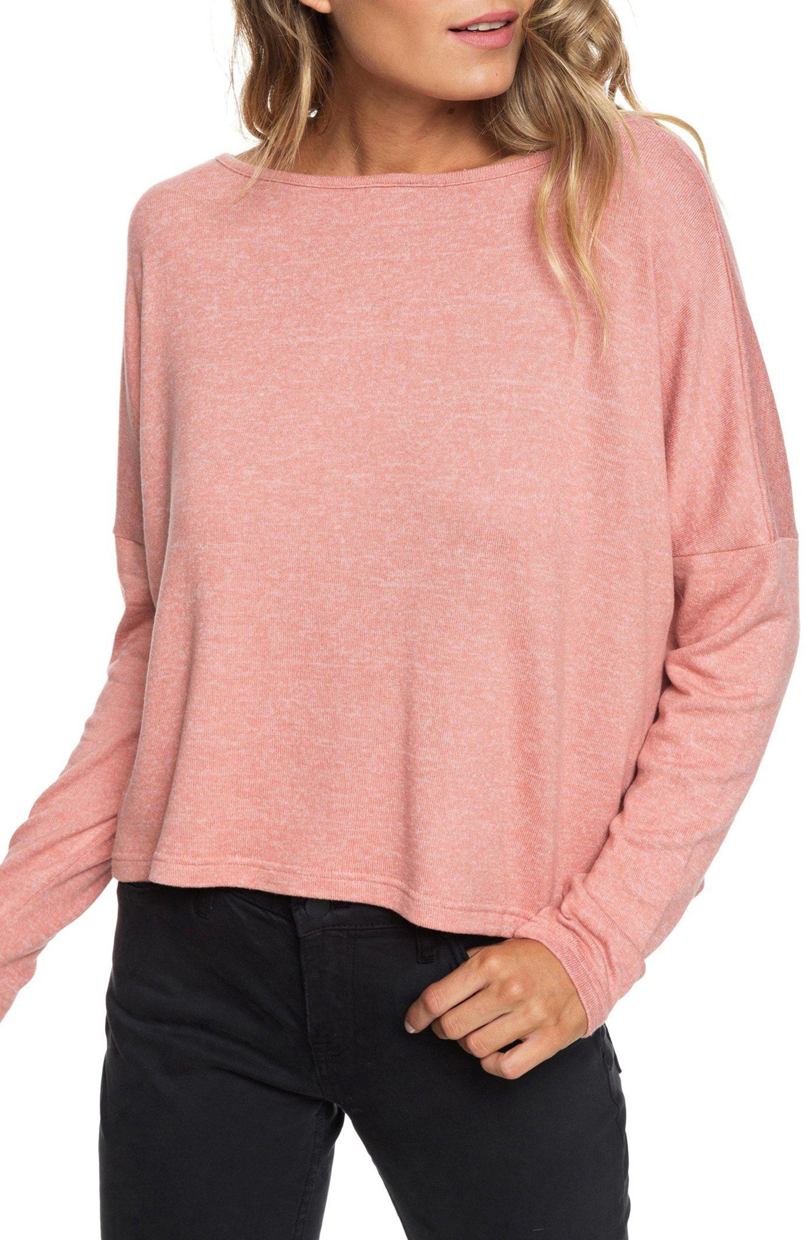 Your Time Low Back Top,                         Main,                         color, DESERT SAND HEATHER