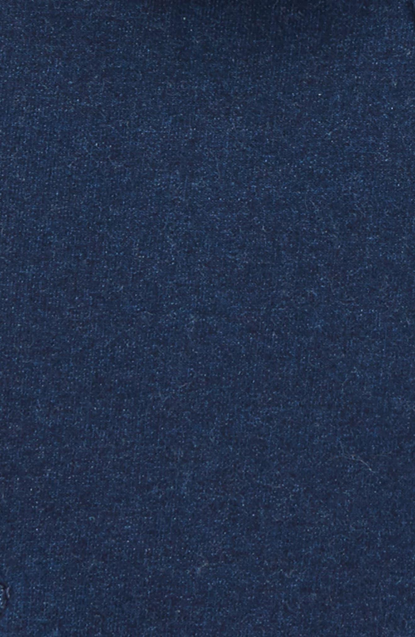 Indigo Moto Jacket,                             Alternate thumbnail 2, color,                             400