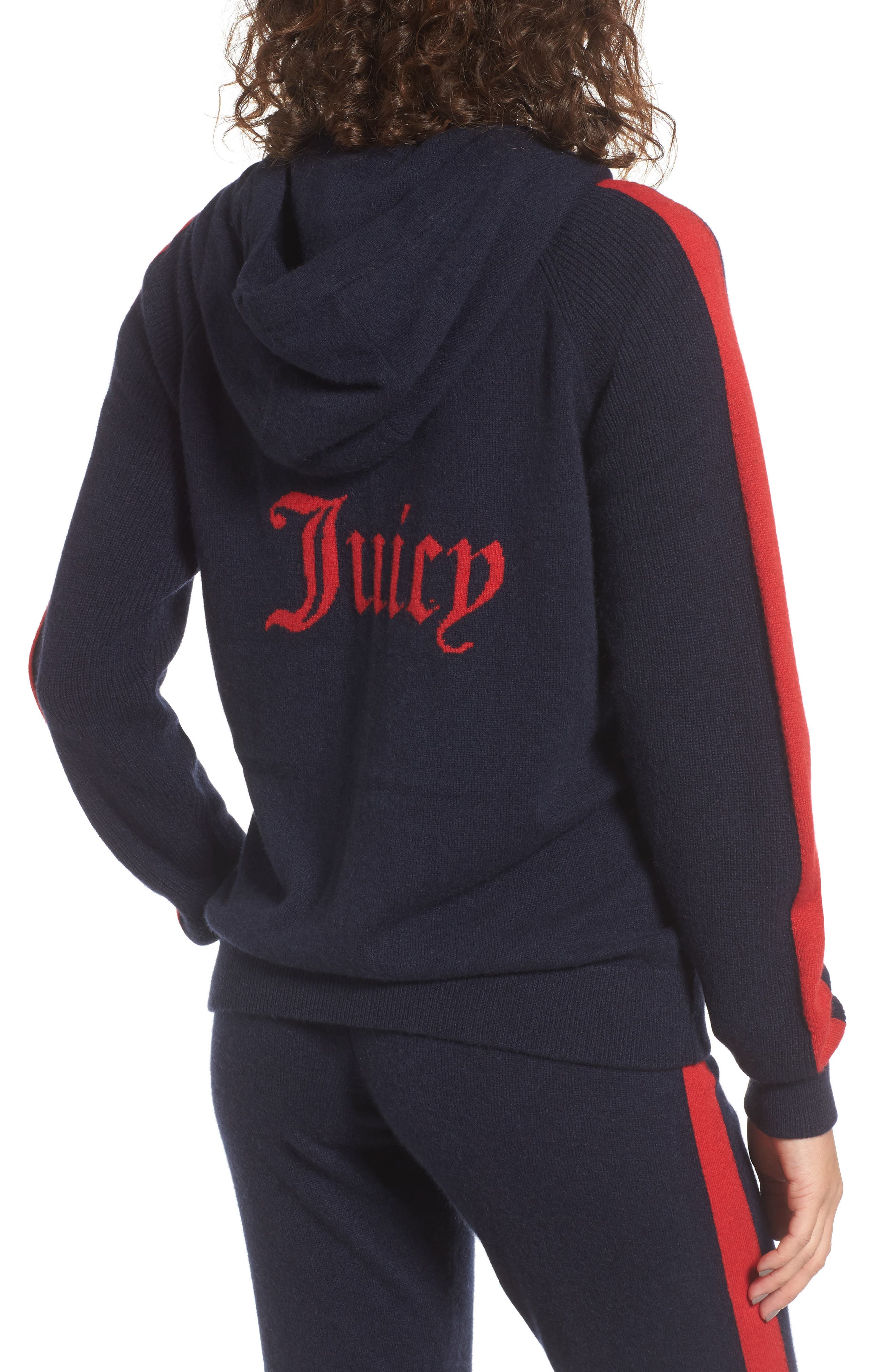 Cashmere Zip Hoodie,                             Alternate thumbnail 2, color,                             419