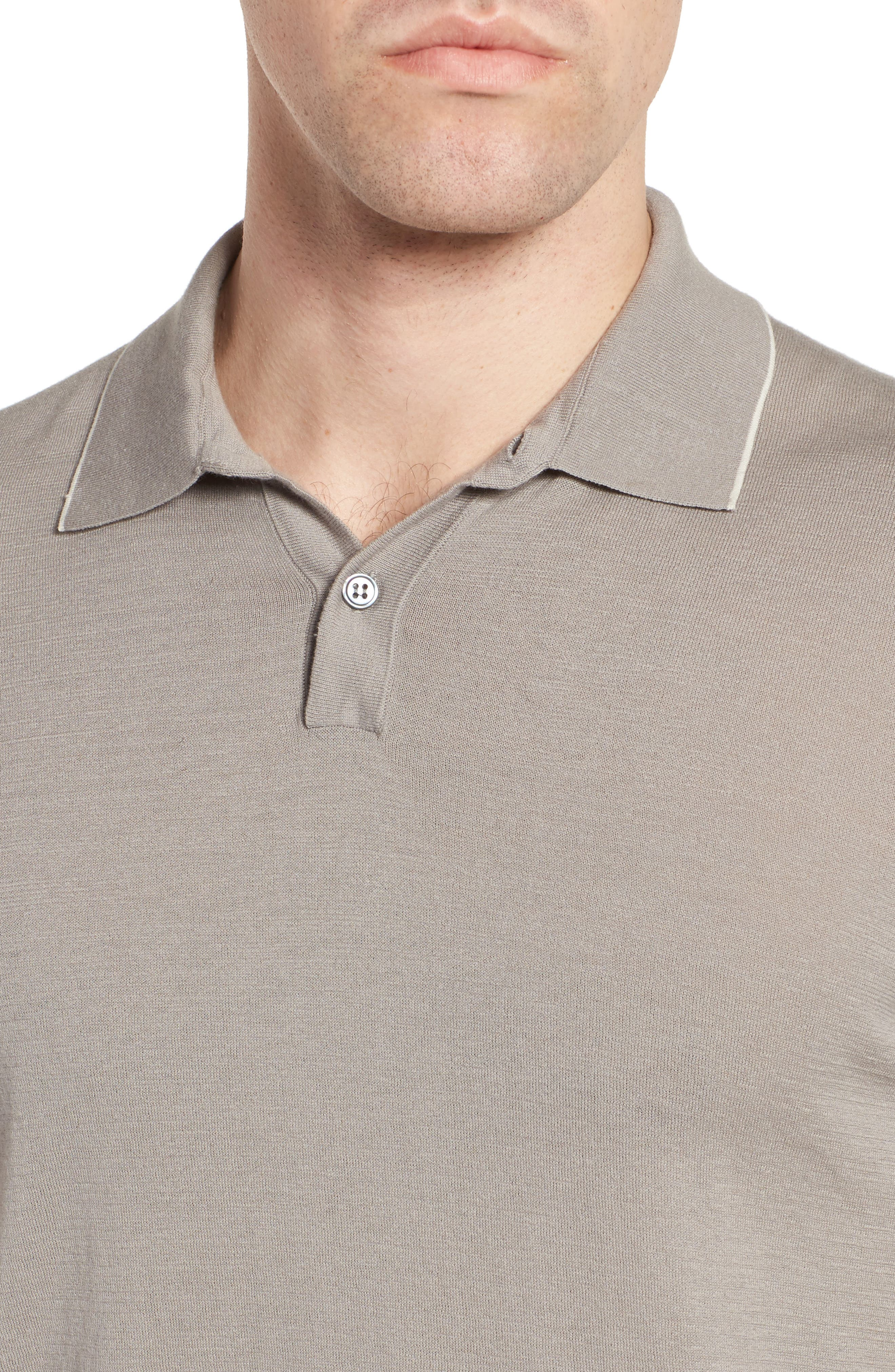 Fine Gauge Tipped Polo,                             Alternate thumbnail 12, color,