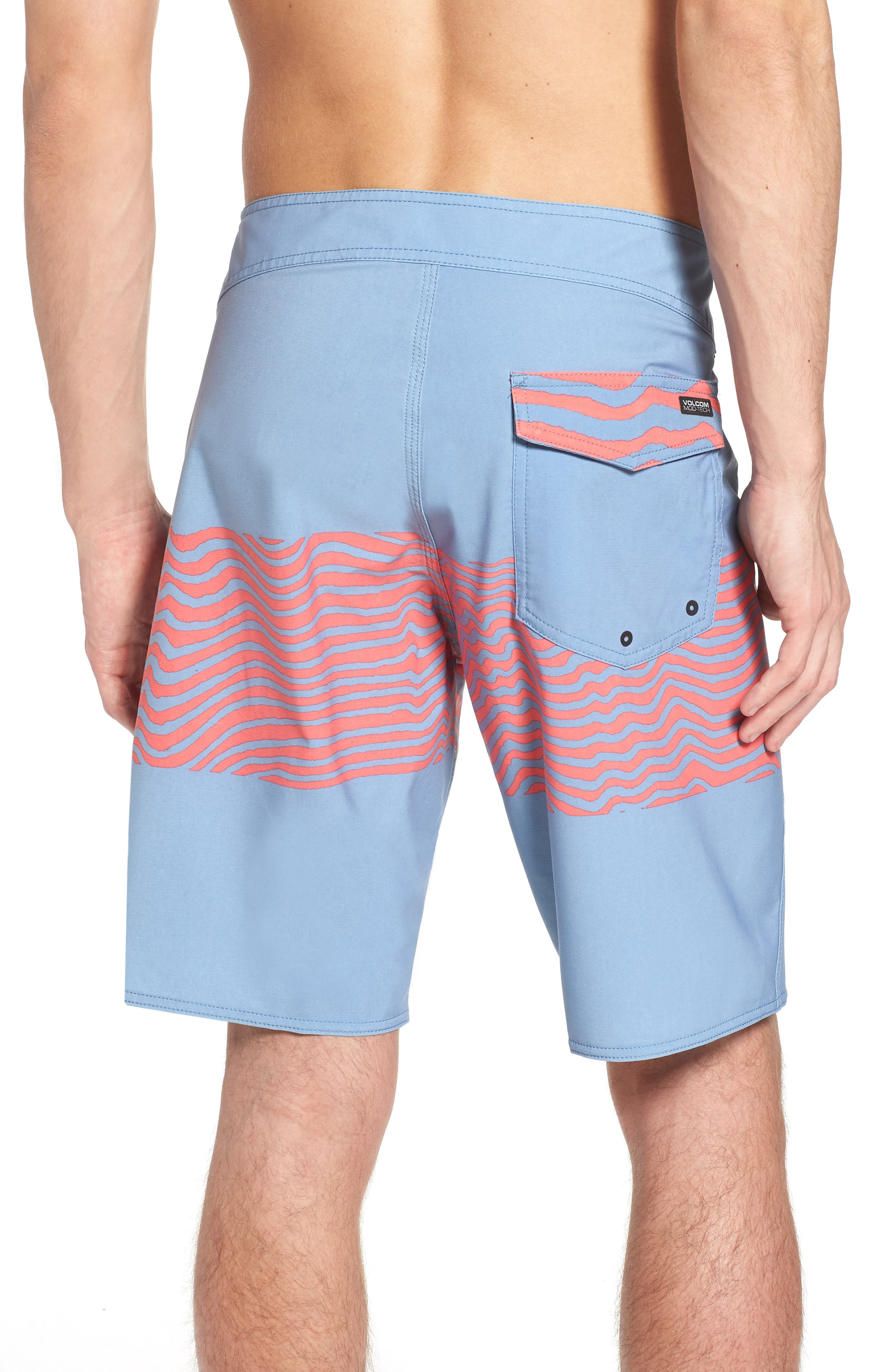 Macaw Faded Mod Board Shorts,                             Alternate thumbnail 2, color,                             499