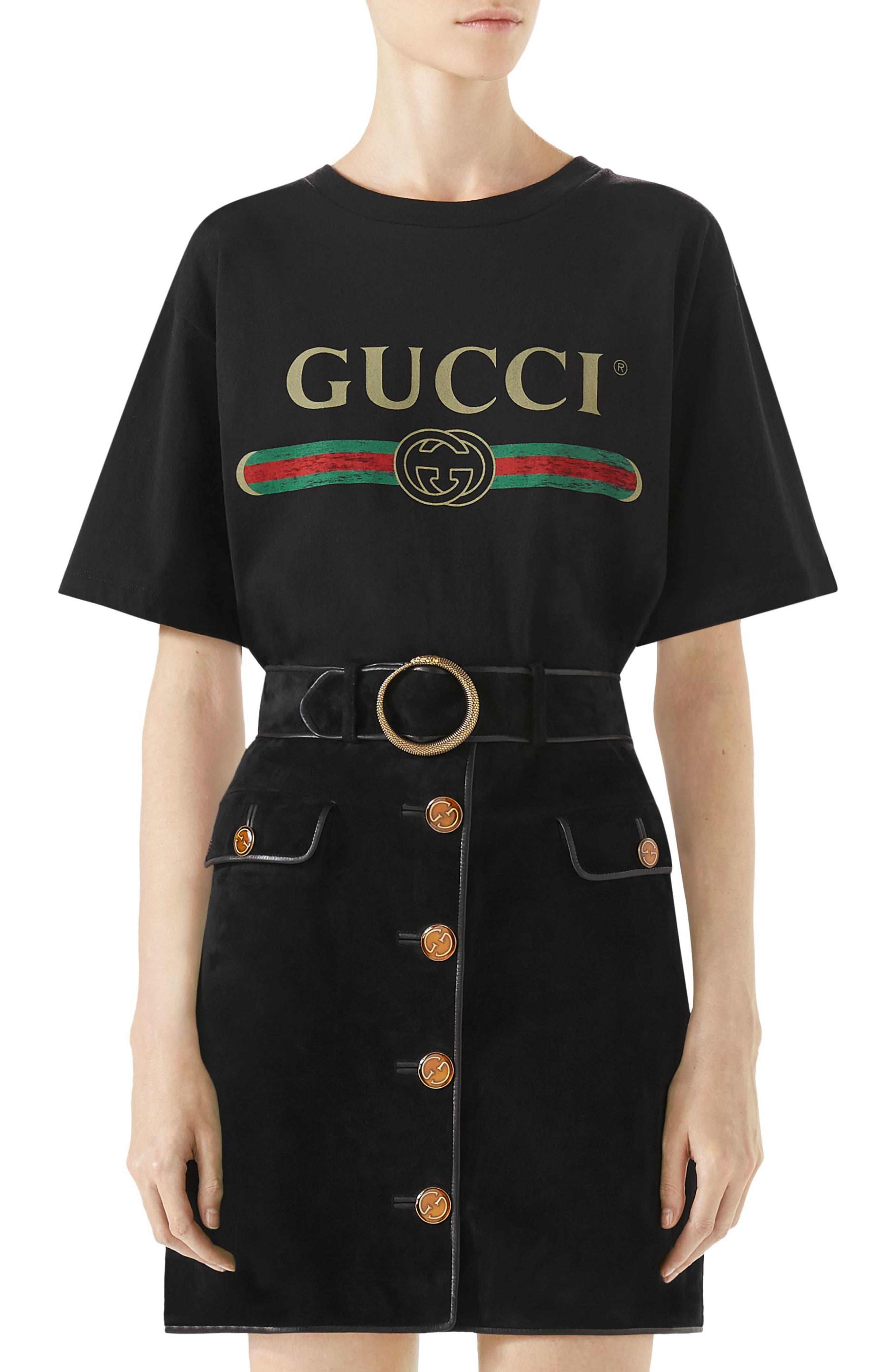 Suede Button Front Skirt,                             Main thumbnail 1, color,                             BLACK