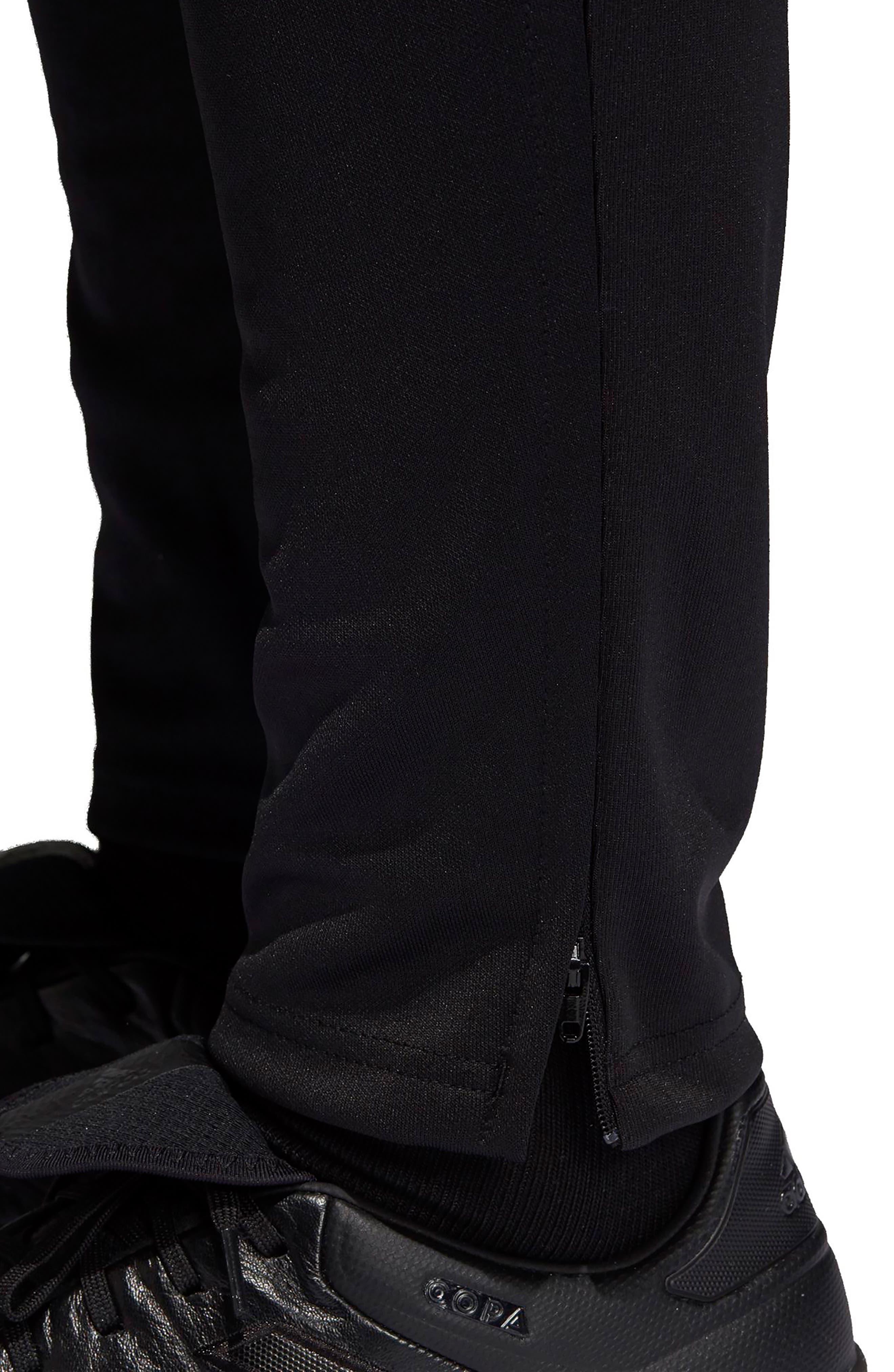Tiro 17 Regular Fit Training Pants,                             Alternate thumbnail 6, color,                             BLACK/ RED/ WHITE/ BLUE