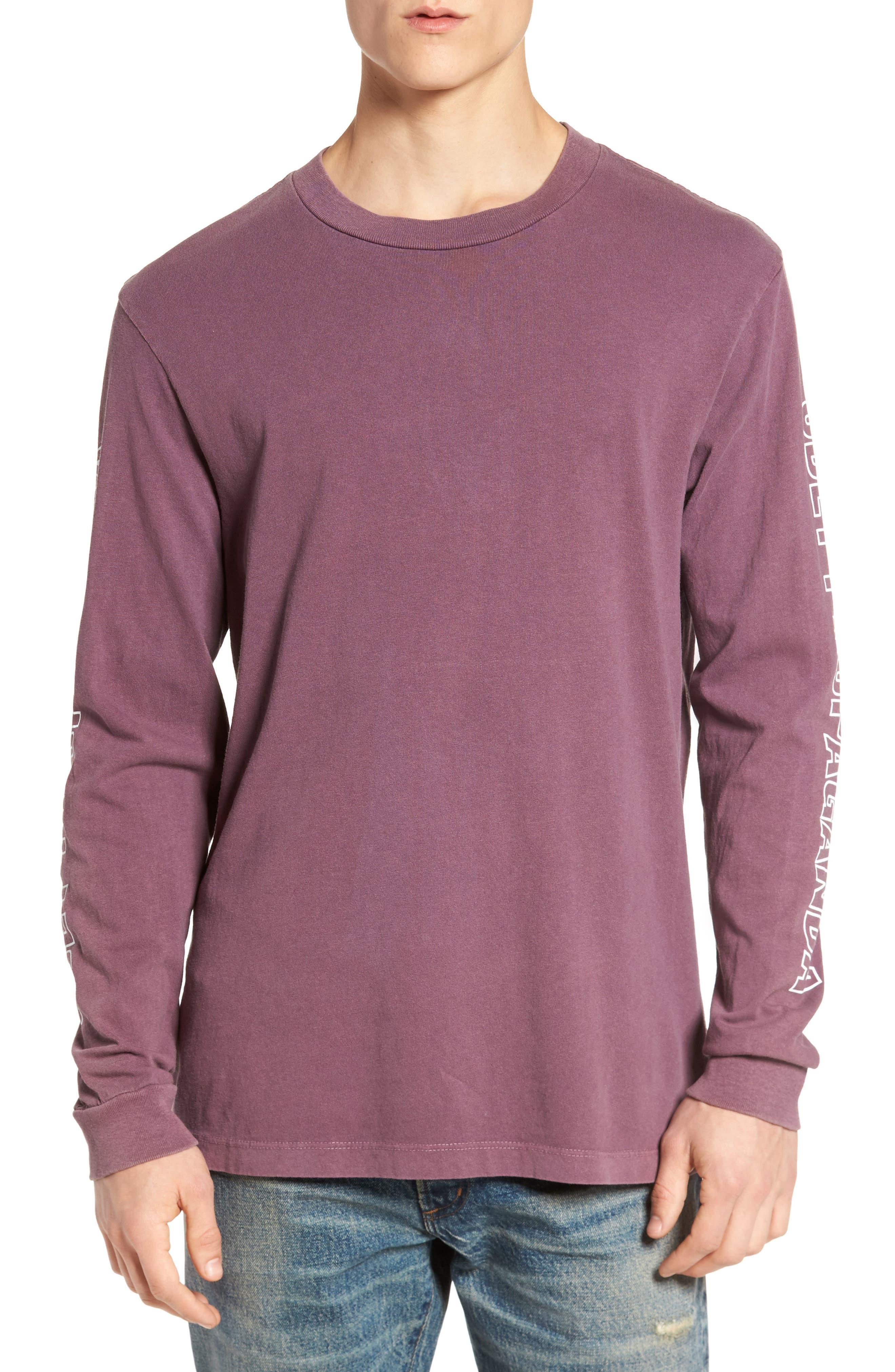 Rough Draft Long Sleeve T-Shirt,                             Main thumbnail 1, color,                             503