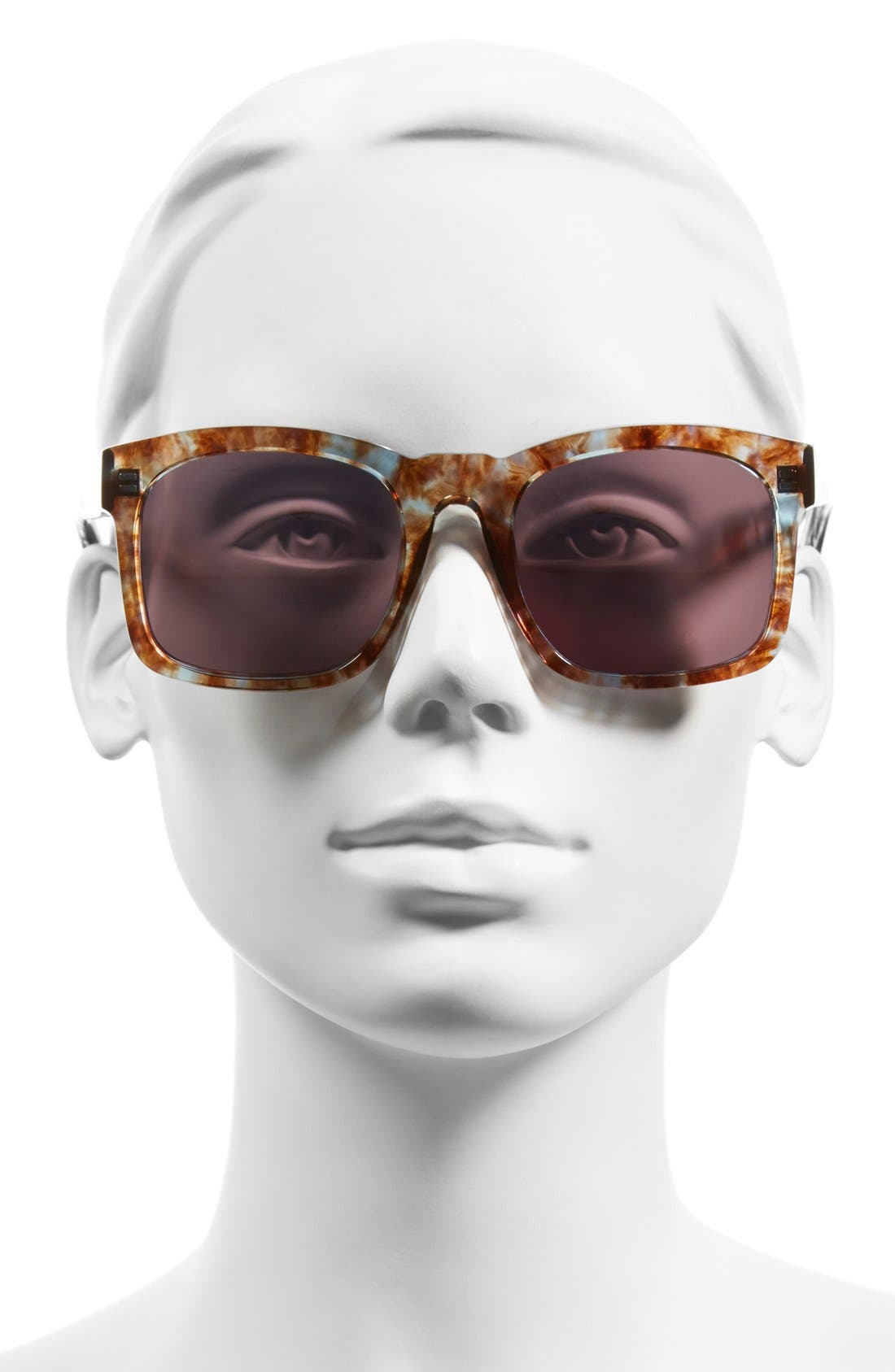 'Gaudy Deluxe' 55mm Sunglasses,                             Alternate thumbnail 2, color,                             200