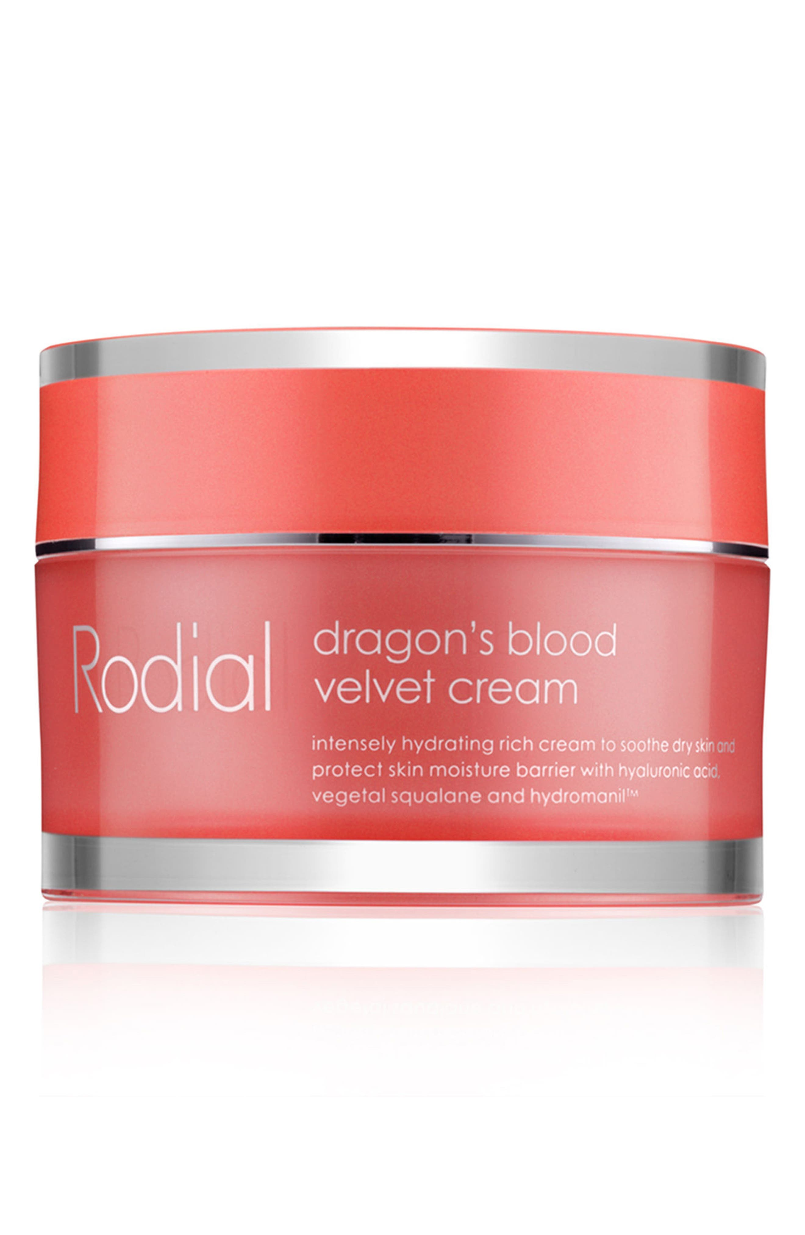 SPACE.NK.apothecary Rodial Dragon's Blood Hyaluronic Velvet Cream,                             Main thumbnail 1, color,                             NO COLOR