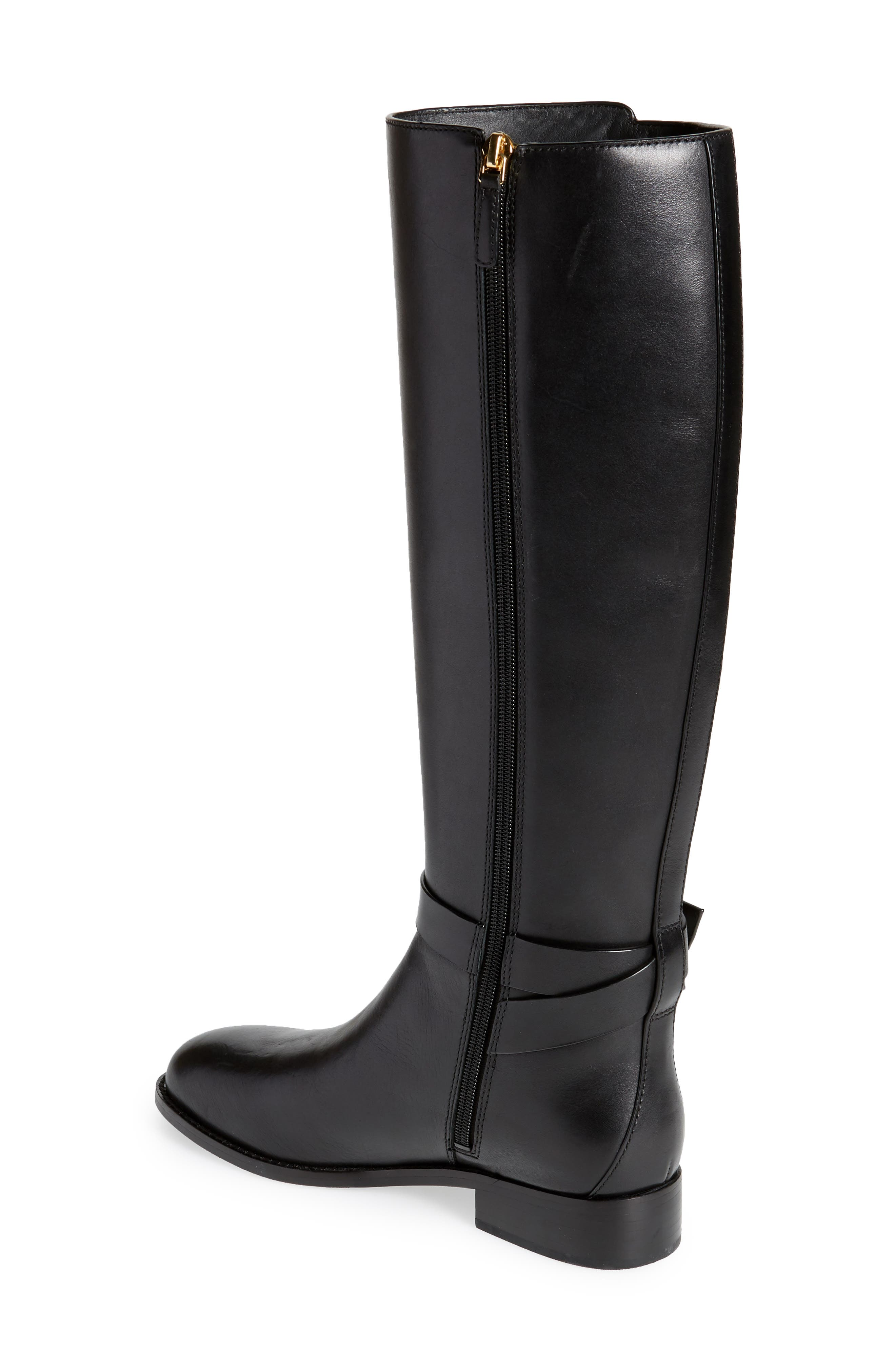 Brooke Knee High Boot,                             Alternate thumbnail 2, color,                             PERFECT BLACK