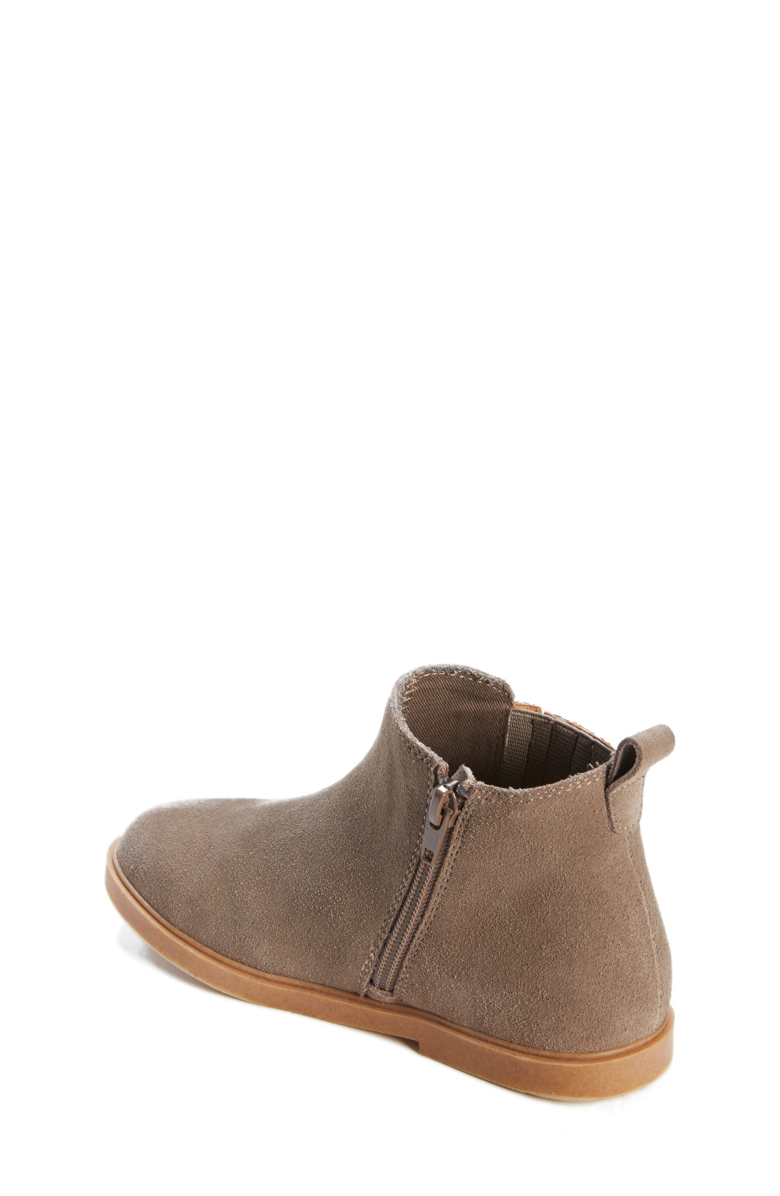 Alice Glitter Chelsea Boot,                             Alternate thumbnail 2, color,                             GREY SUEDE