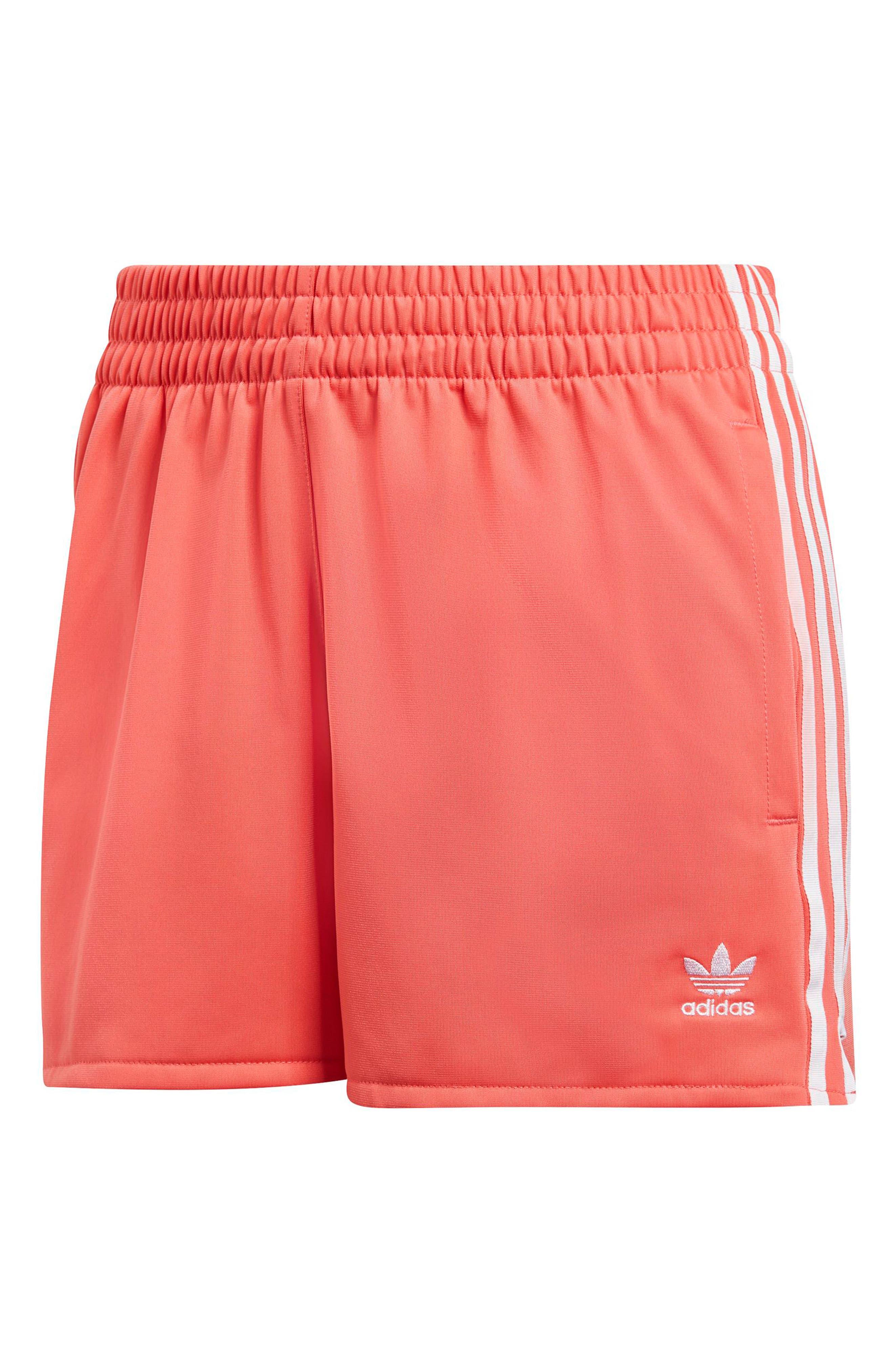 ADIDAS ORIGINALS,                             3-Stripes Shorts,                             Alternate thumbnail 7, color,                             600