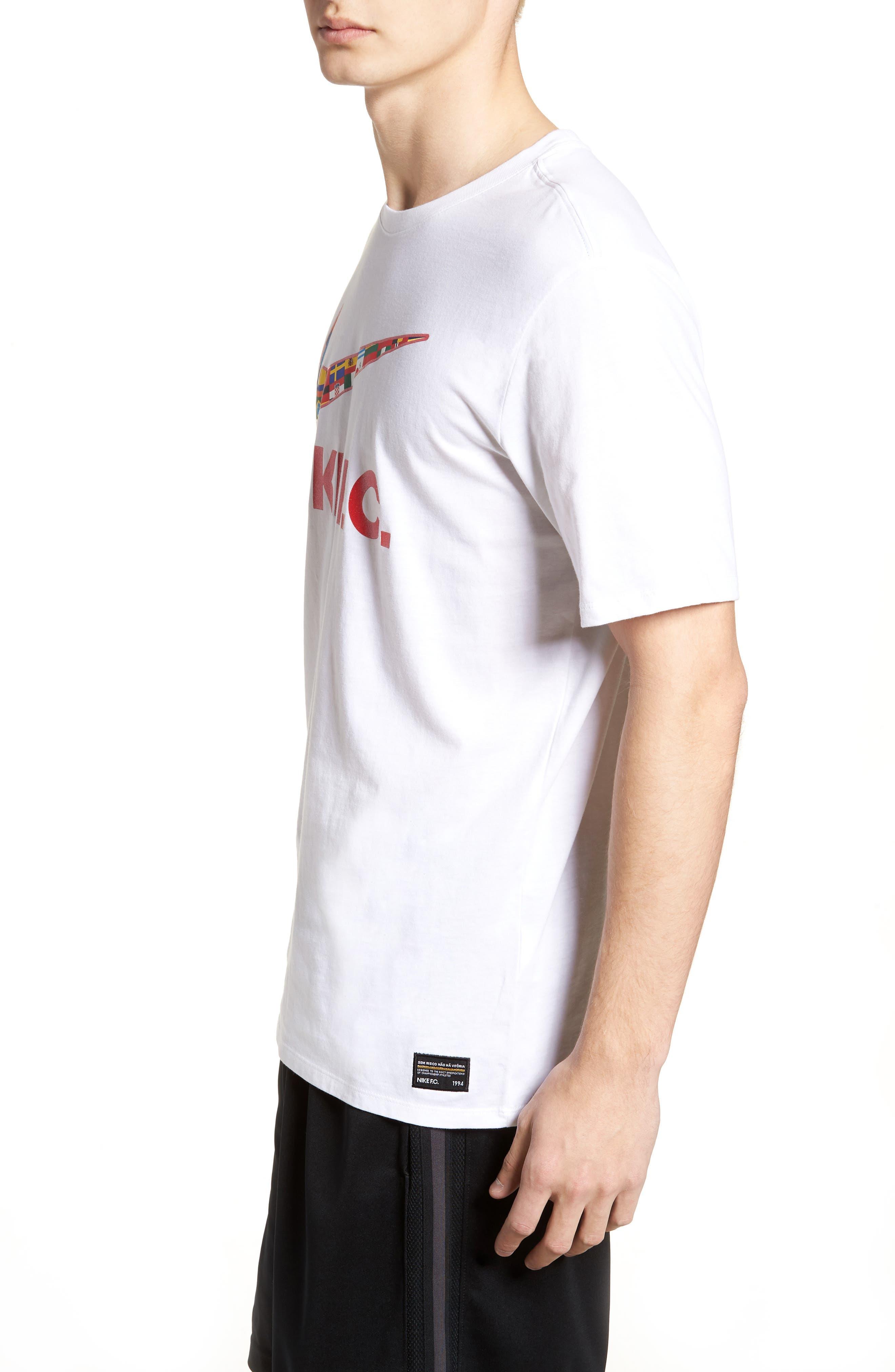 F.C. Swoosh Flag Graphic T-Shirt,                             Alternate thumbnail 6, color,