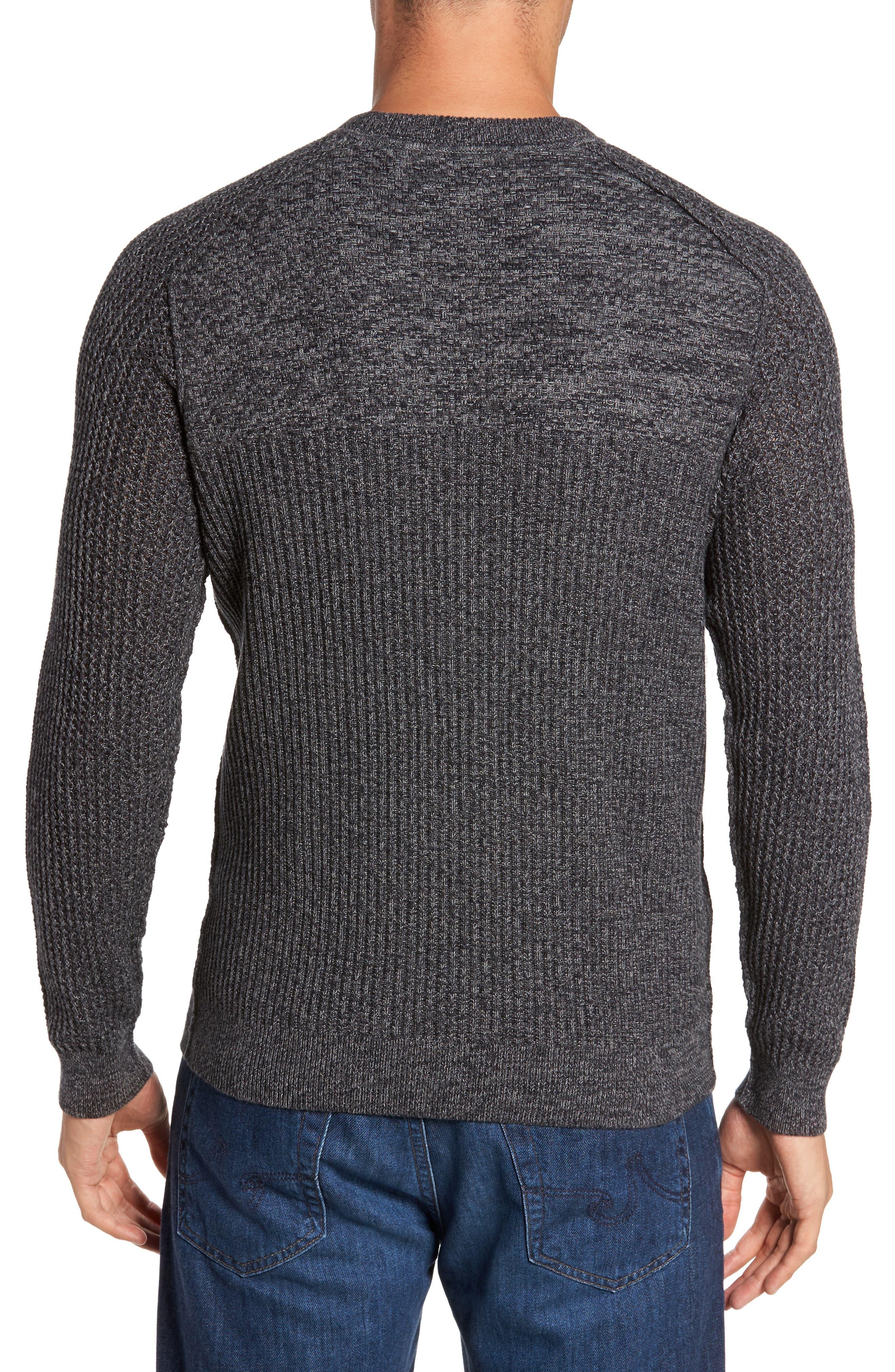 Medina Marl Cotton Sweater,                             Alternate thumbnail 4, color,