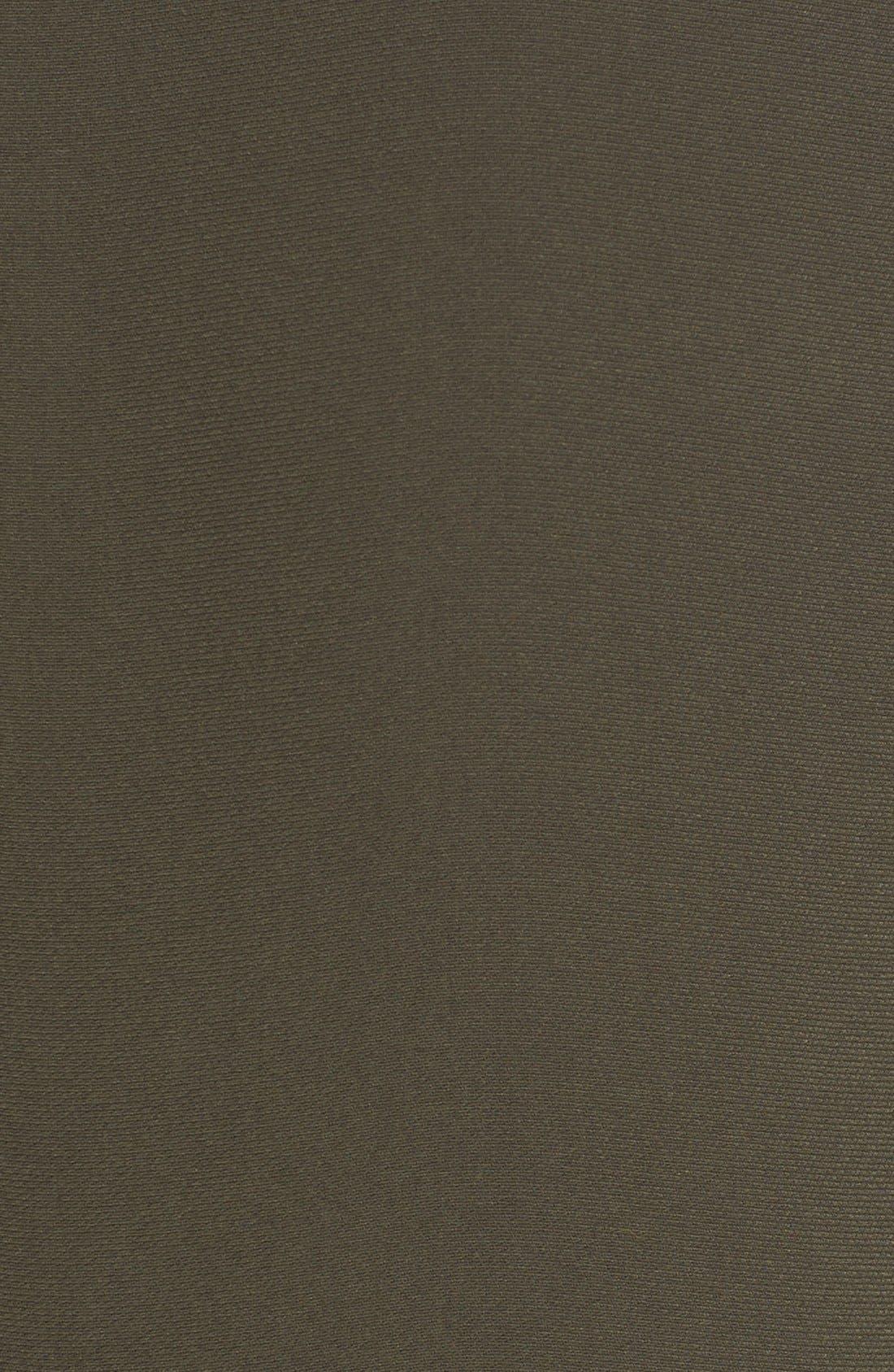 'Vanity' Drape Front Sleeveless Cady Blouse,                             Alternate thumbnail 5, color,                             314