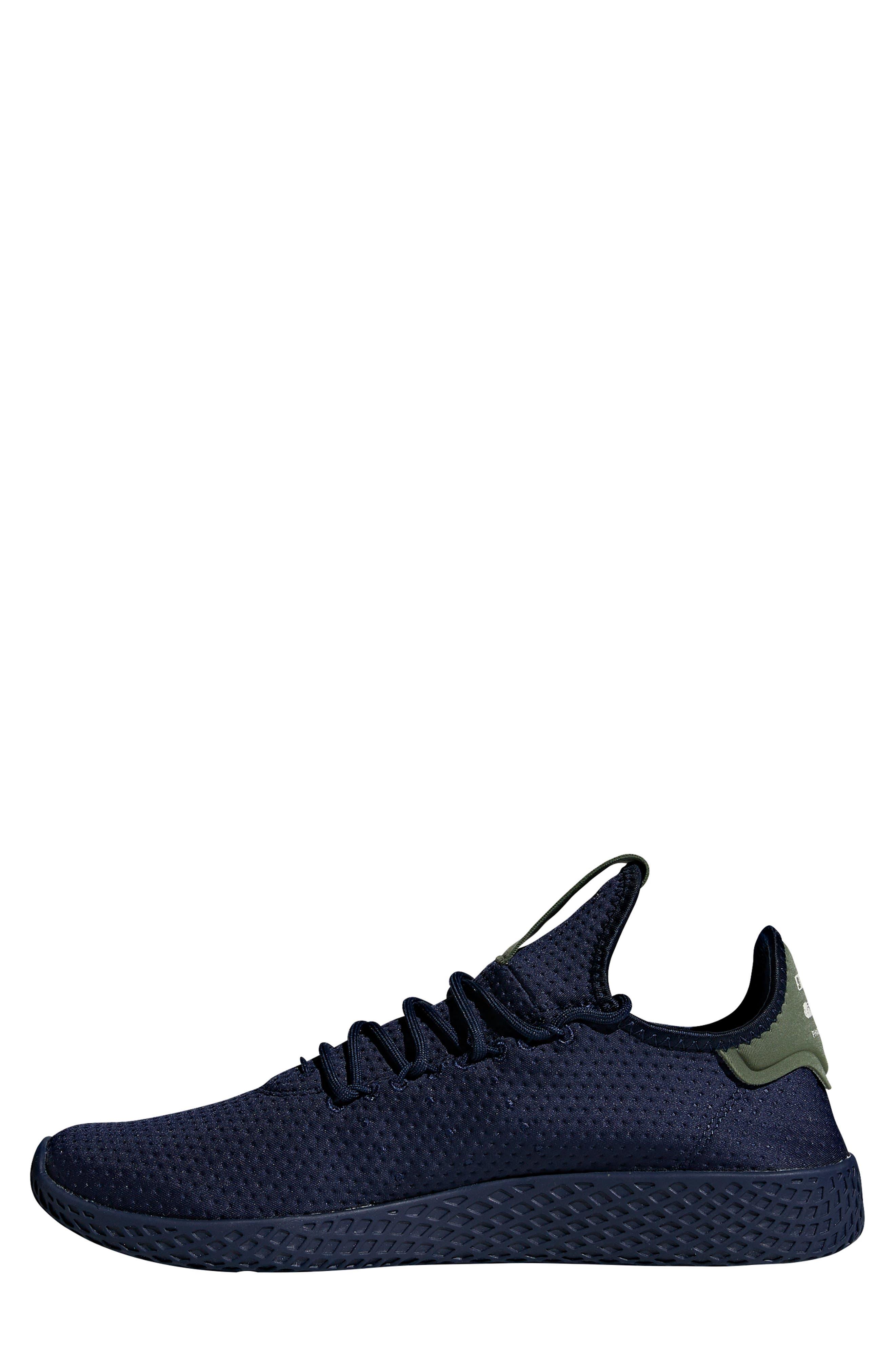 Pharrell Williams Tennis Hu Sneaker,                             Alternate thumbnail 7, color,                             415