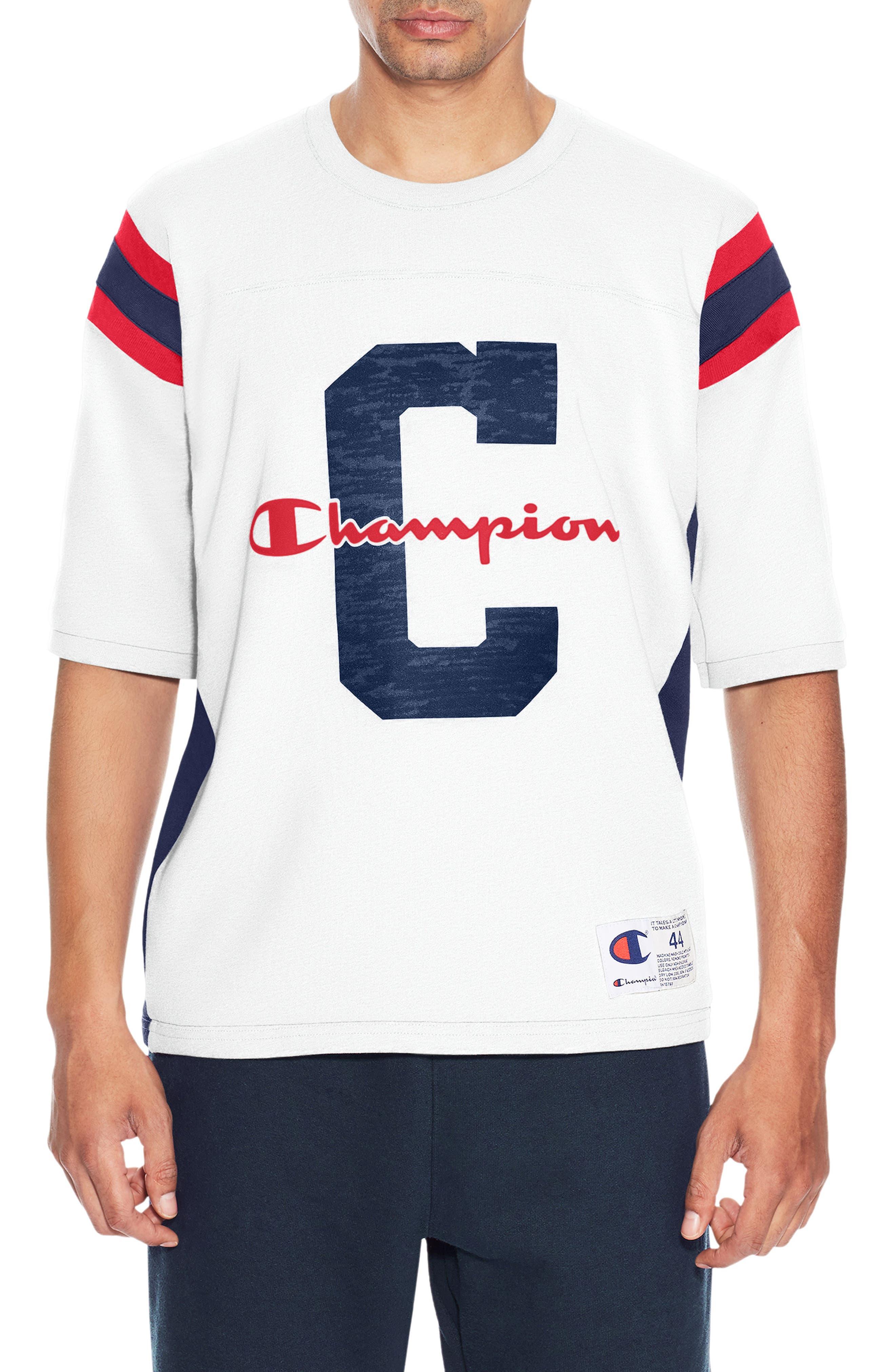 Heavyweight Football Jersey T-Shirt,                             Main thumbnail 1, color,                             100