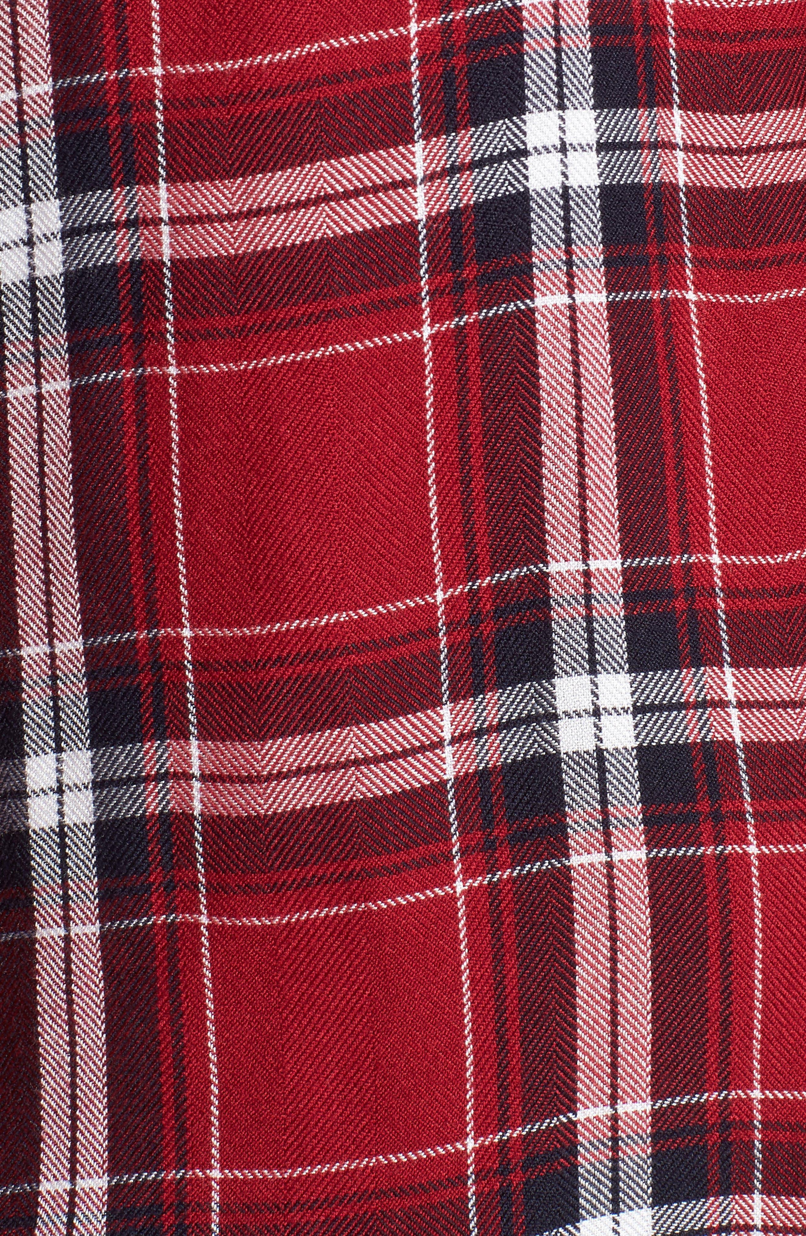 Hunter Plaid Shirt,                             Alternate thumbnail 620, color,