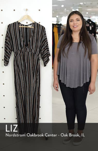 Forever & Day Stripe Maxi Dress, sales video thumbnail