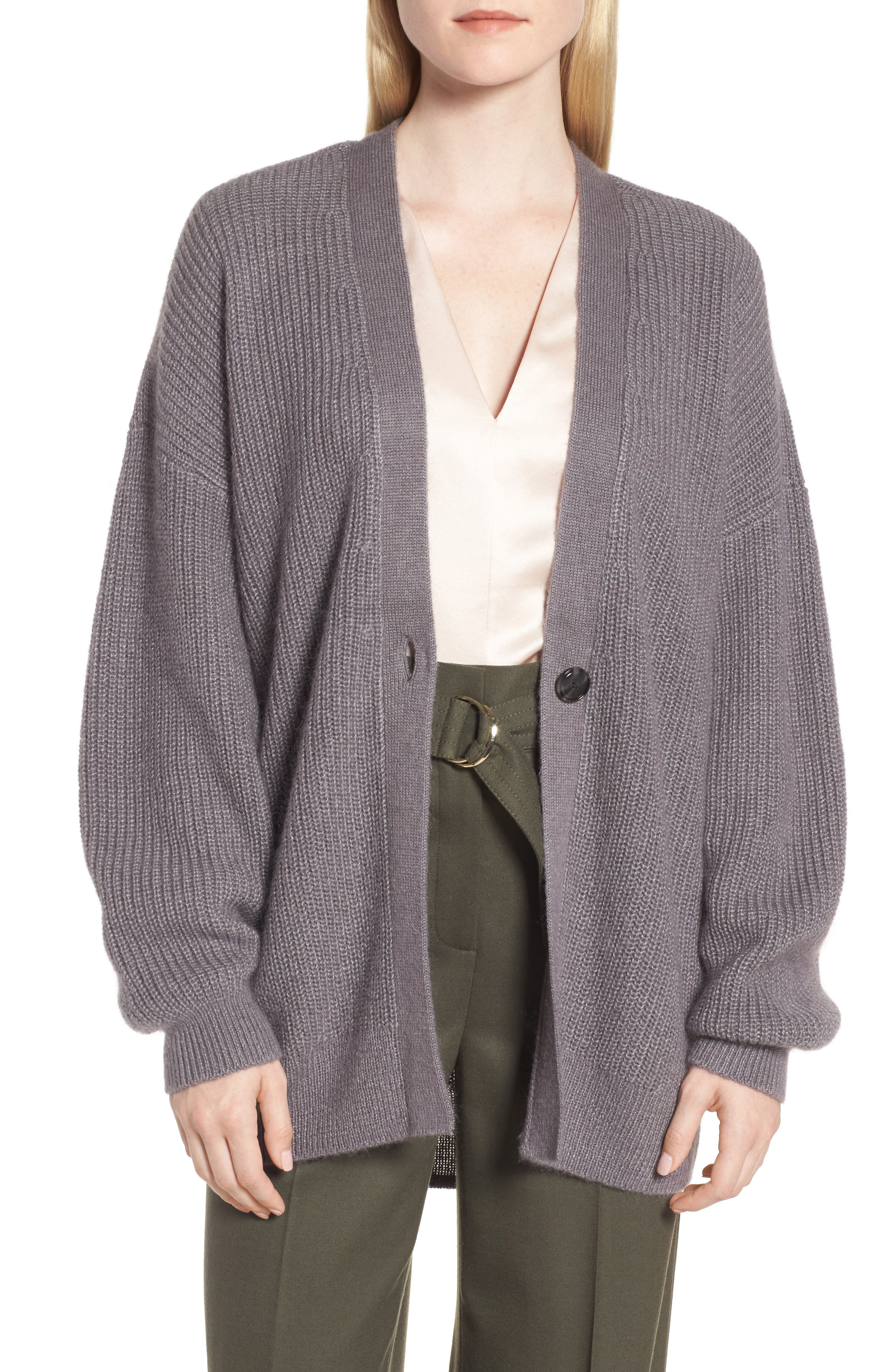 Lace-Up Back Cardigan,                         Main,                         color, 021