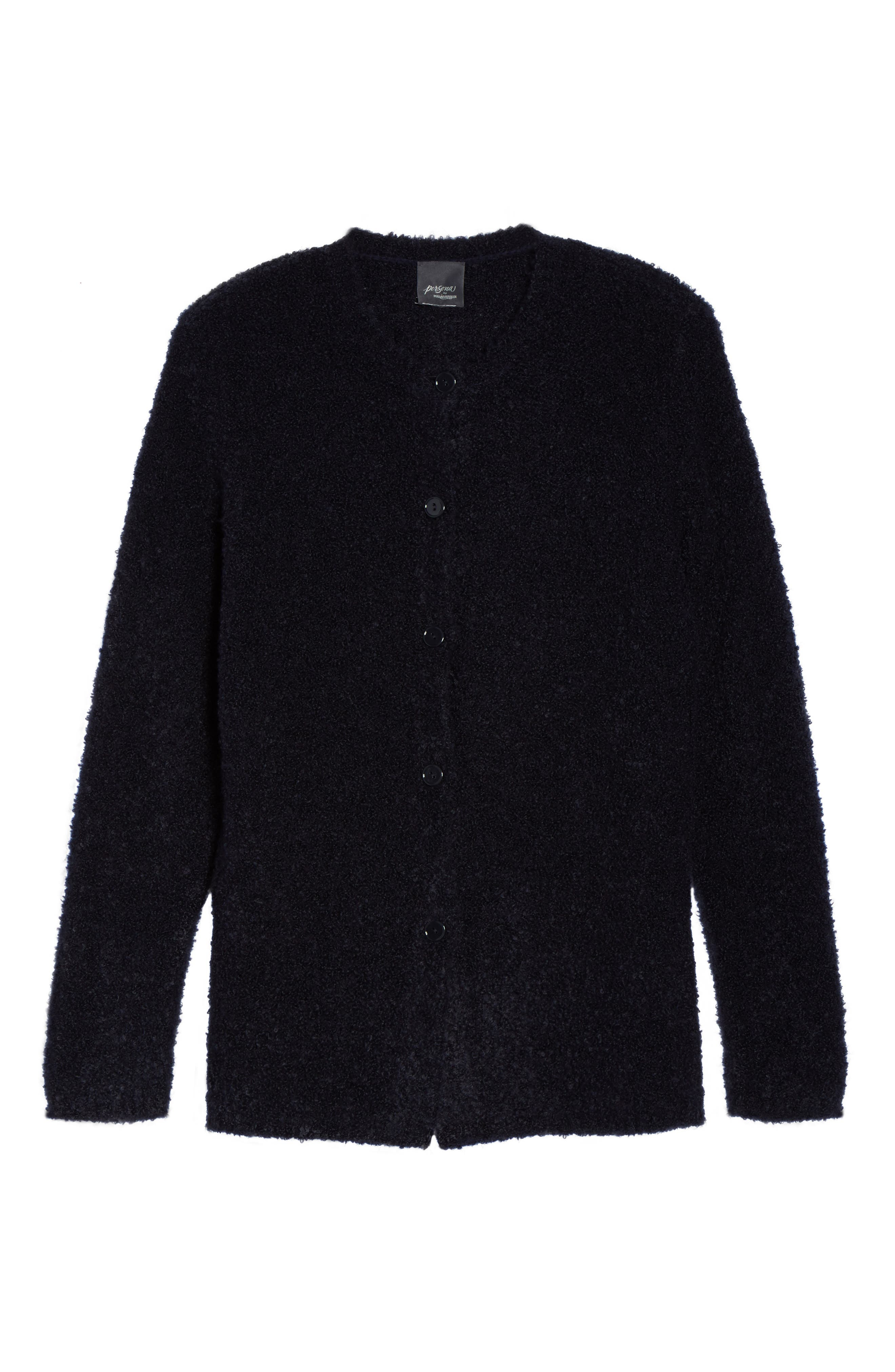 Melodico Button-Up Sweater,                             Alternate thumbnail 6, color,