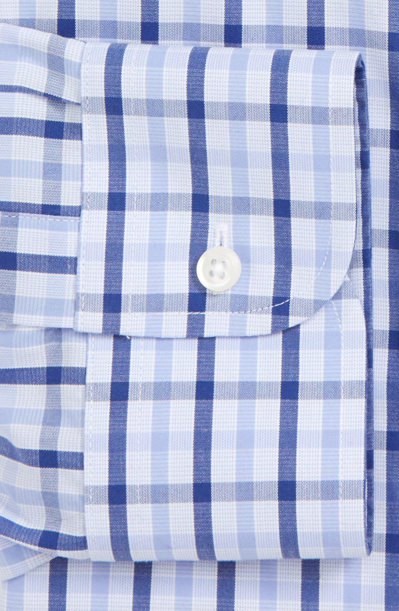 Smartcare<sup>™</sup> Traditional Fit Check Dress Shirt,                             Main thumbnail 1, color,                             420