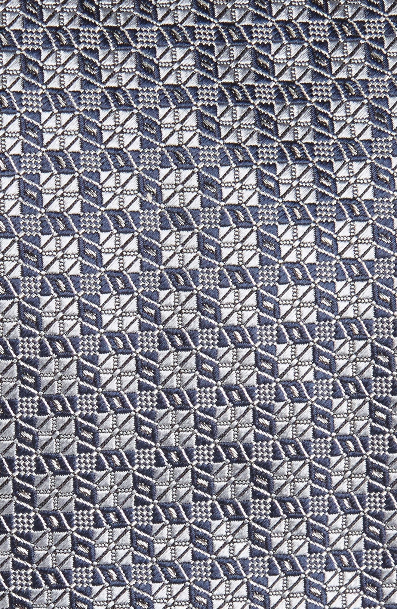 Geometric Silk Tie,                             Alternate thumbnail 2, color,                             025