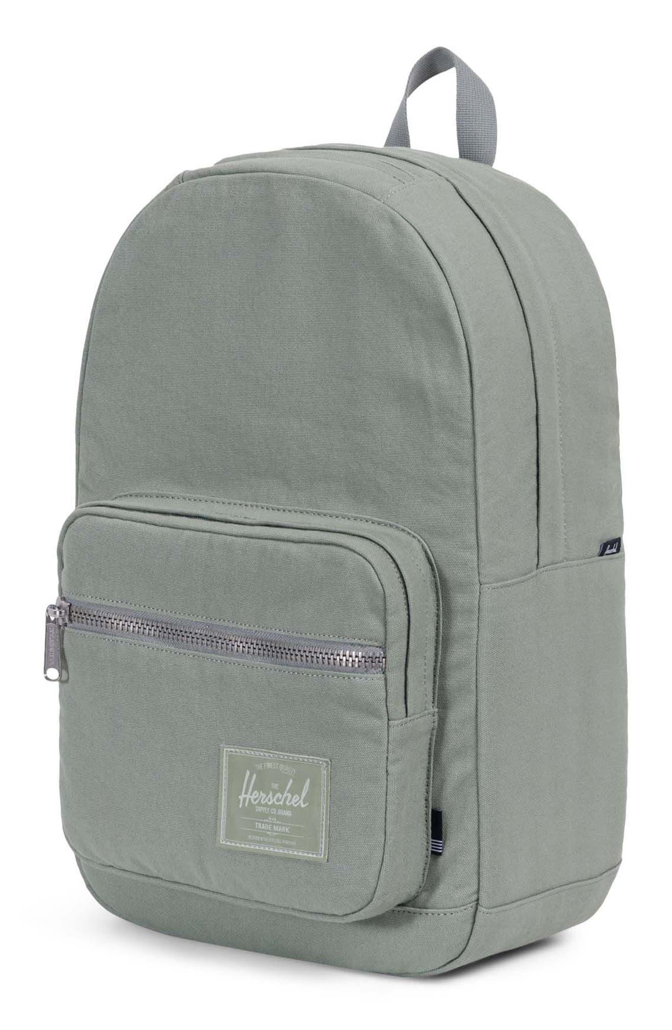 Pop Quiz Canvas Backpack,                             Alternate thumbnail 4, color,