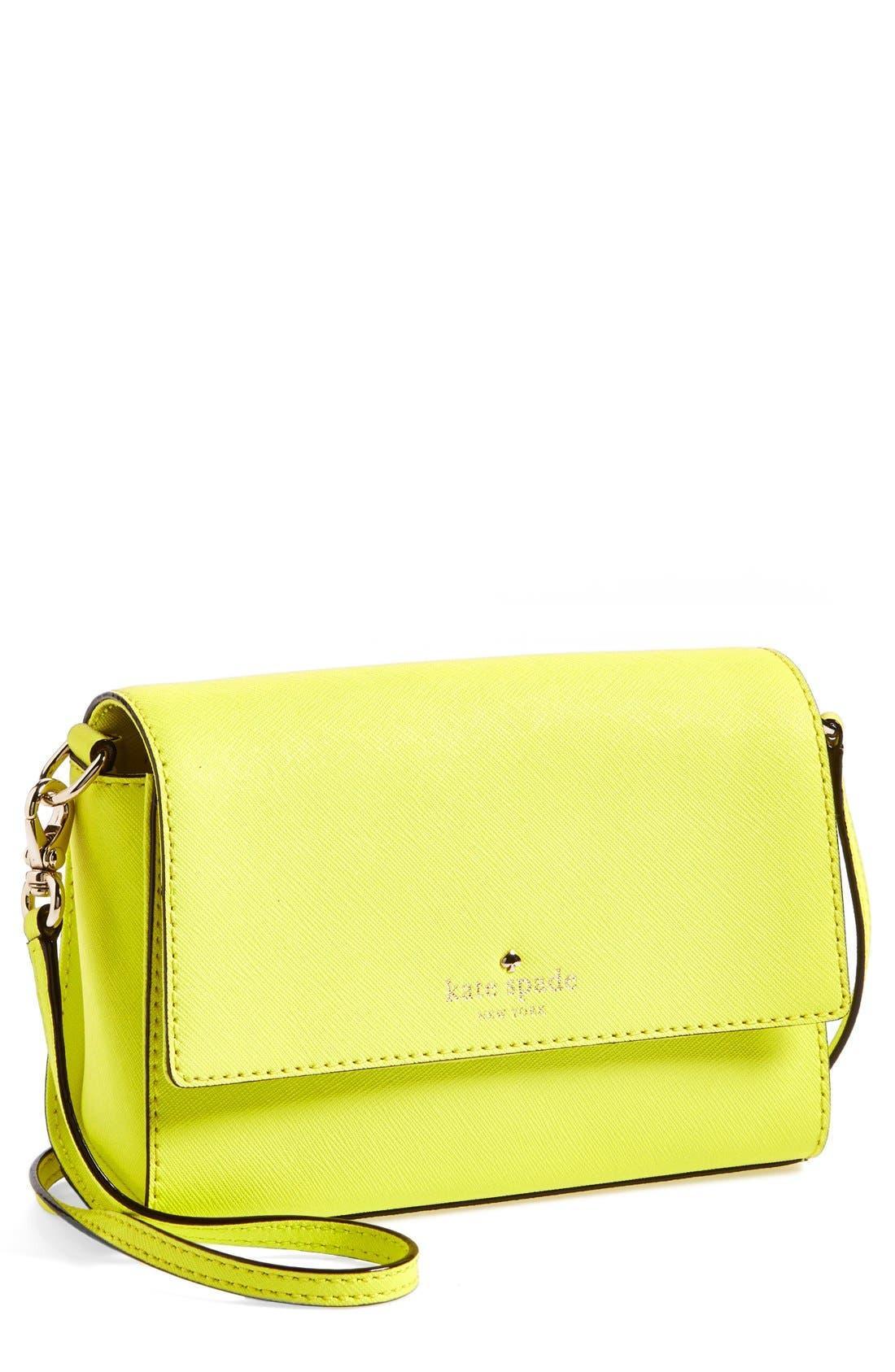 'cedar street - magnolia' crossbody bag,                             Main thumbnail 3, color,