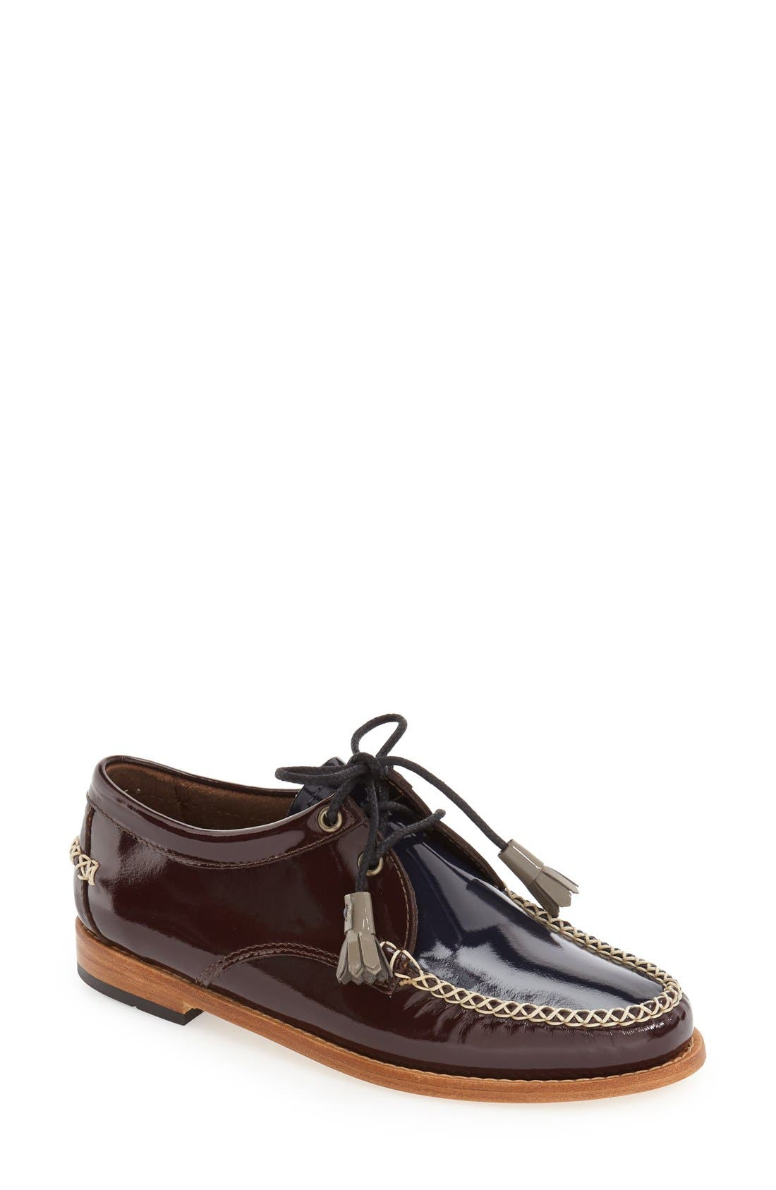 'Winnie' Leather Oxford,                             Main thumbnail 5, color,
