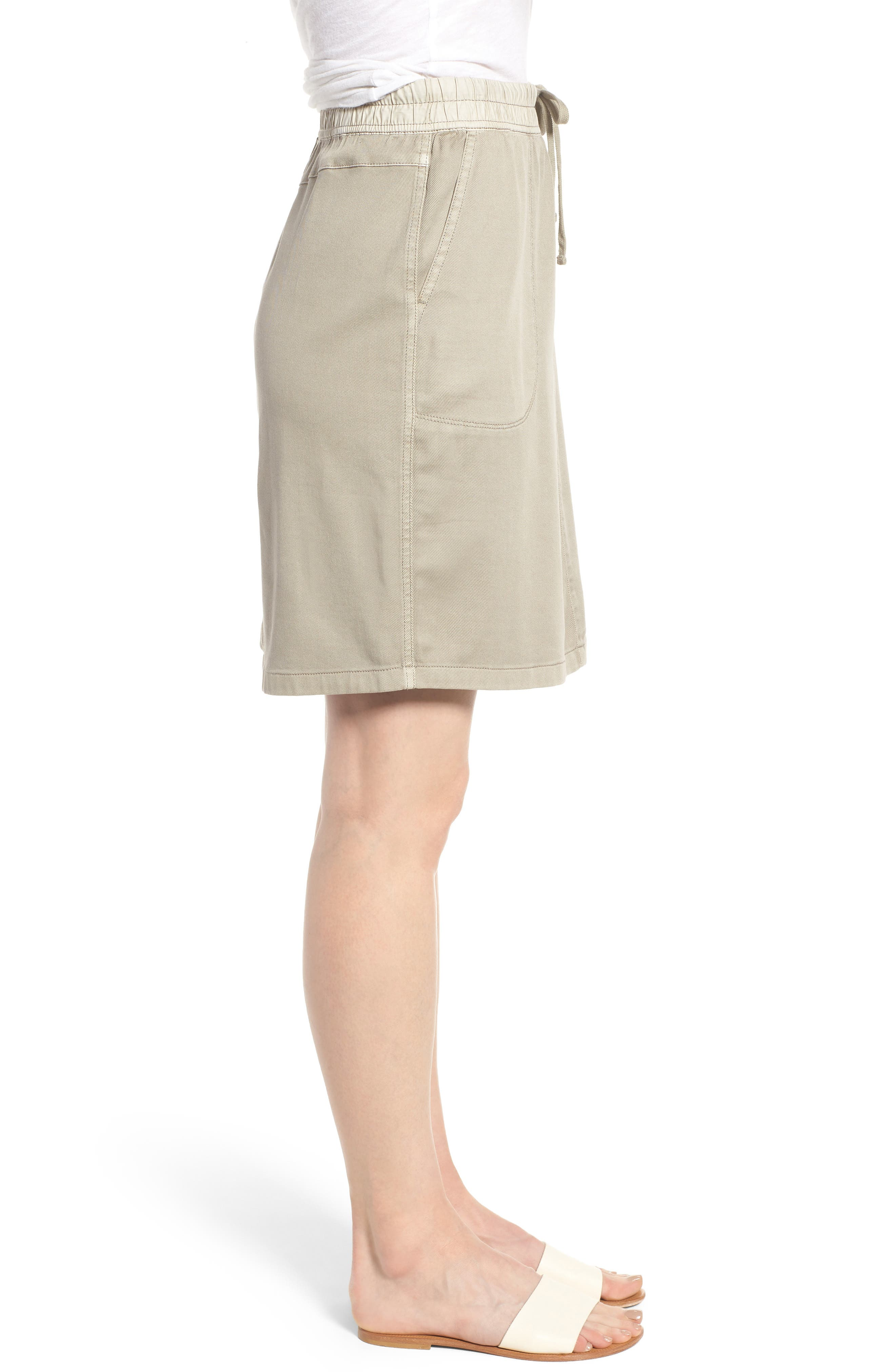 Open Road Skirt,                             Alternate thumbnail 3, color,                             FLAX