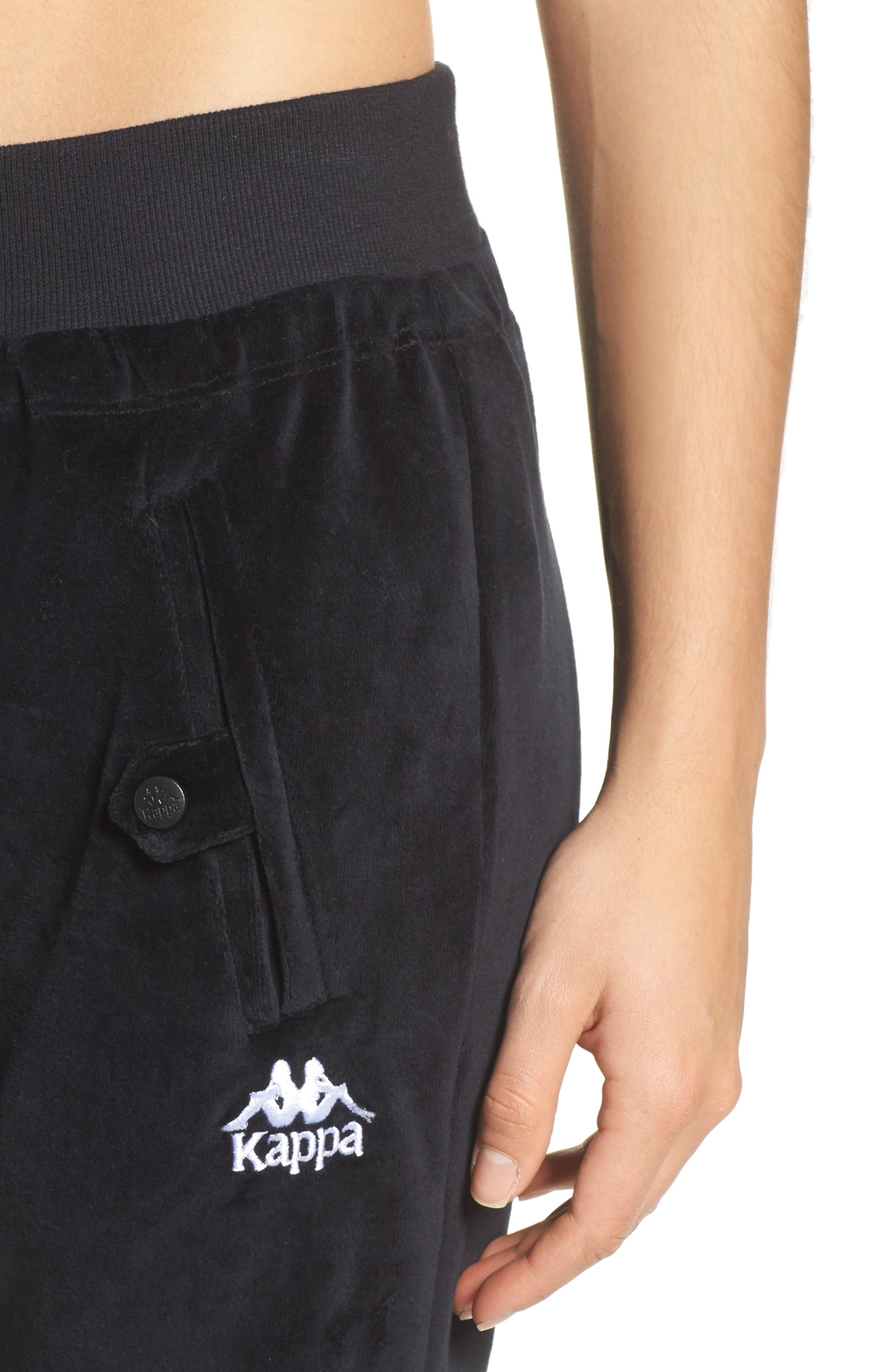 Authentic Screwball Track Pants,                             Alternate thumbnail 4, color,                             001