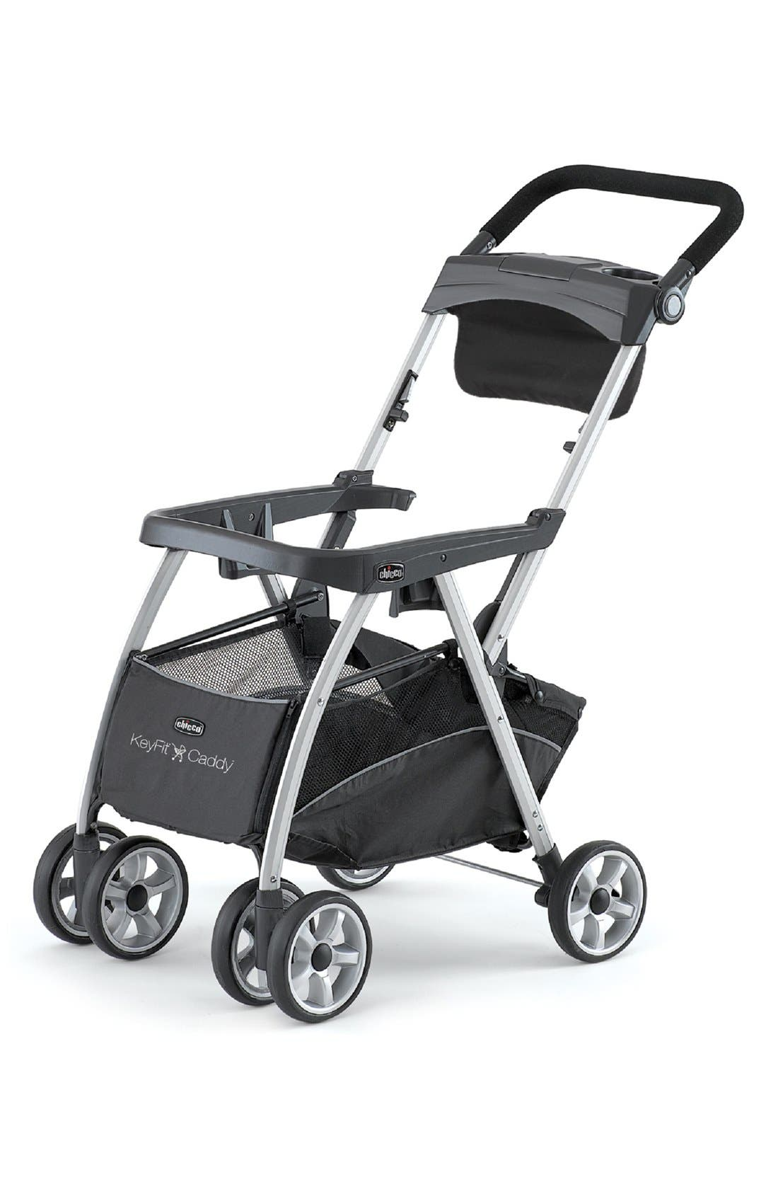 KeyFit<sup>®</sup> Caddy<sup>™</sup> Frame Stroller,                             Main thumbnail 1, color,                             BLACK